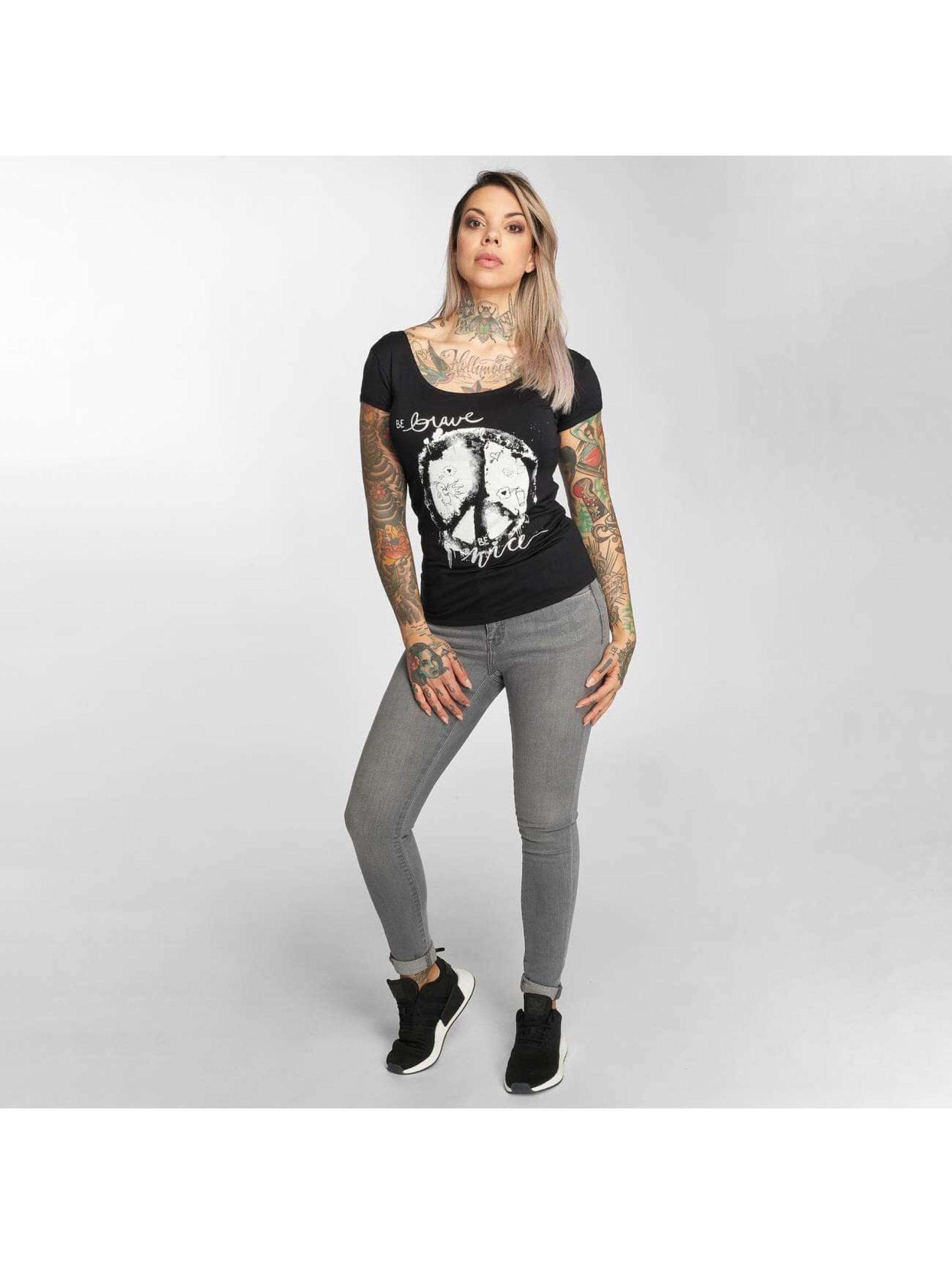 trueprodigy T-Shirt Love Be Nice black