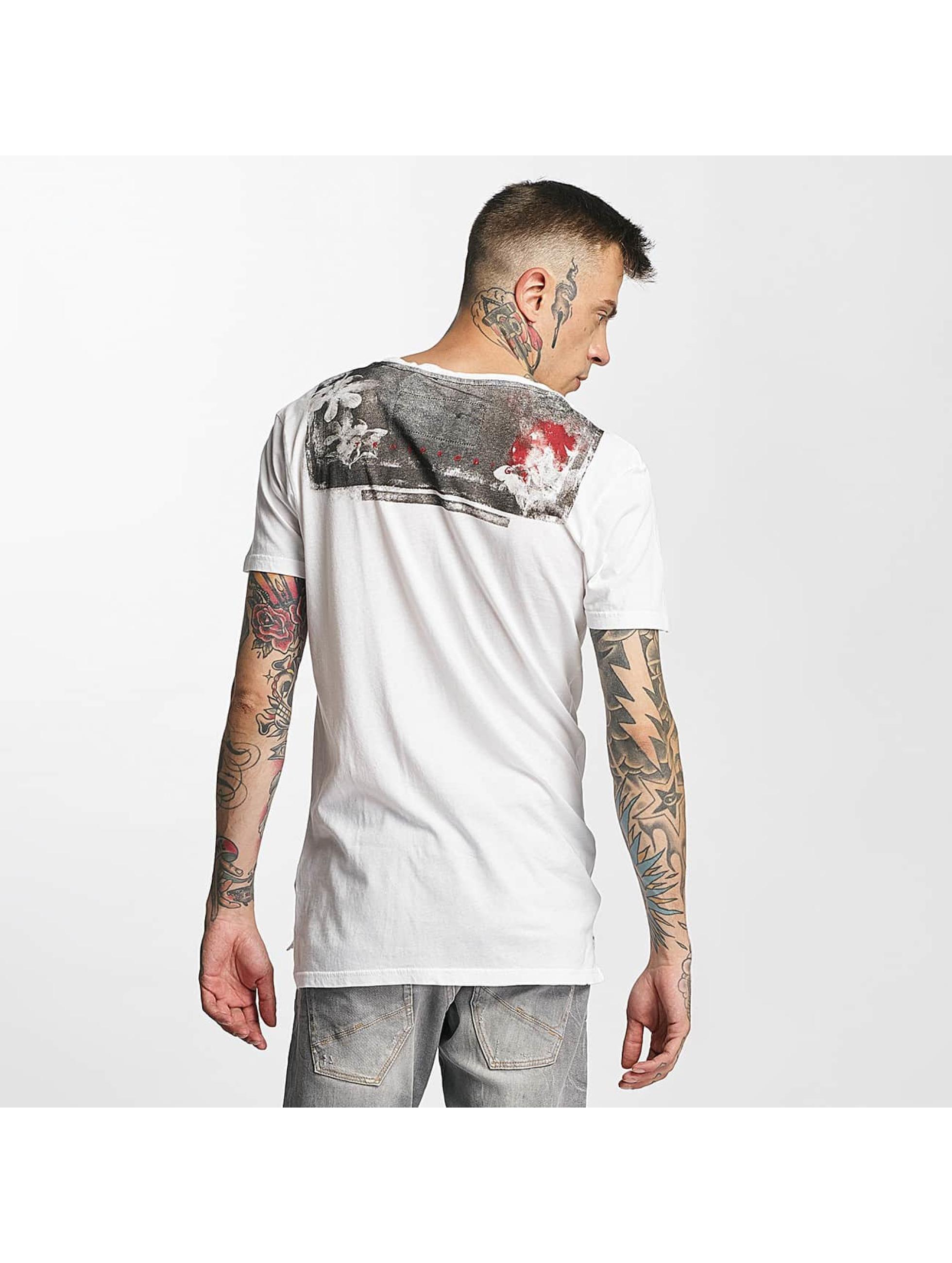 trueprodigy T-Shirt Skull blanc
