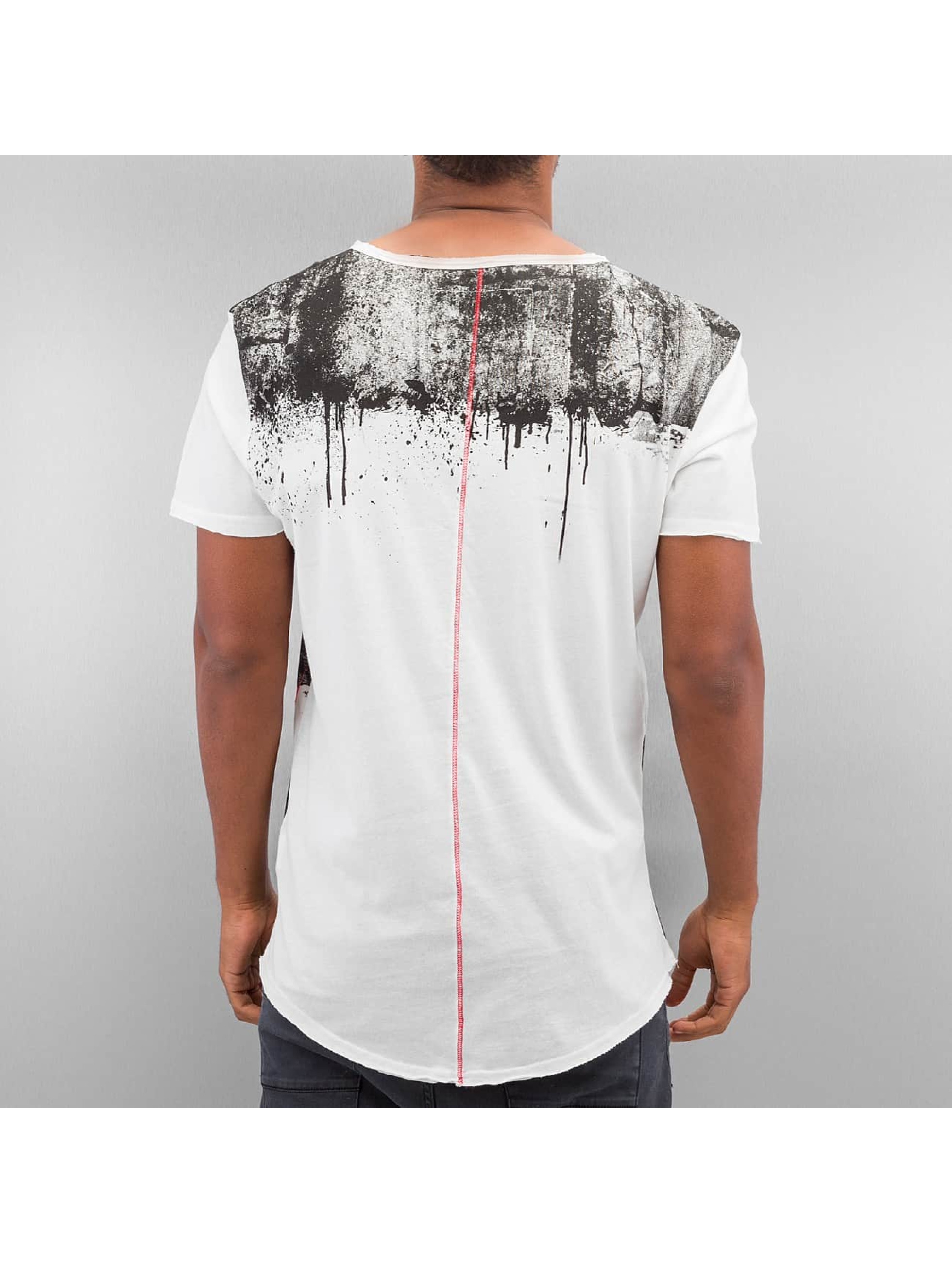 trueprodigy T-shirt Stripe Printed grå