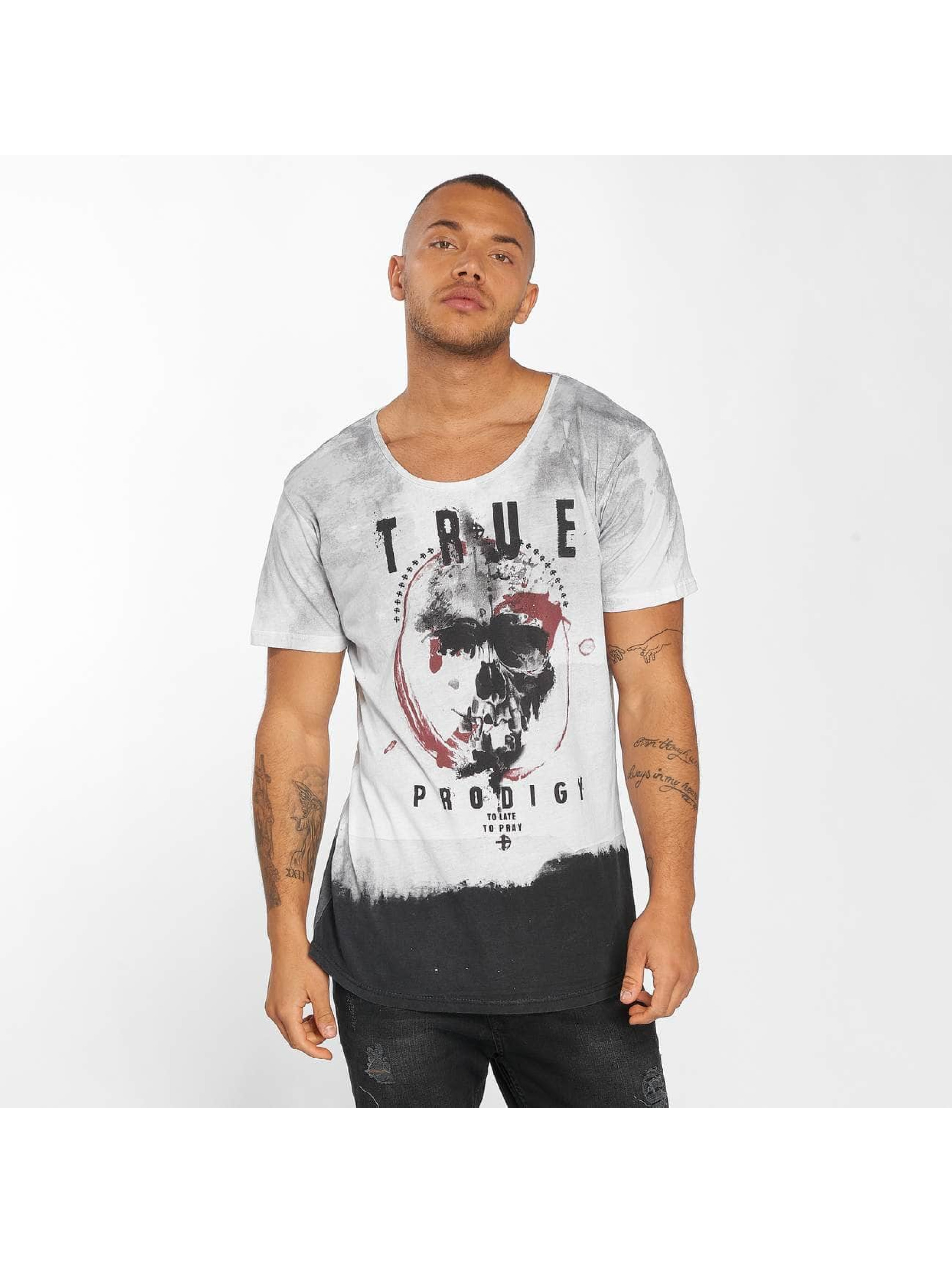 trueprodigy T-Shirt To Late To Pray gray