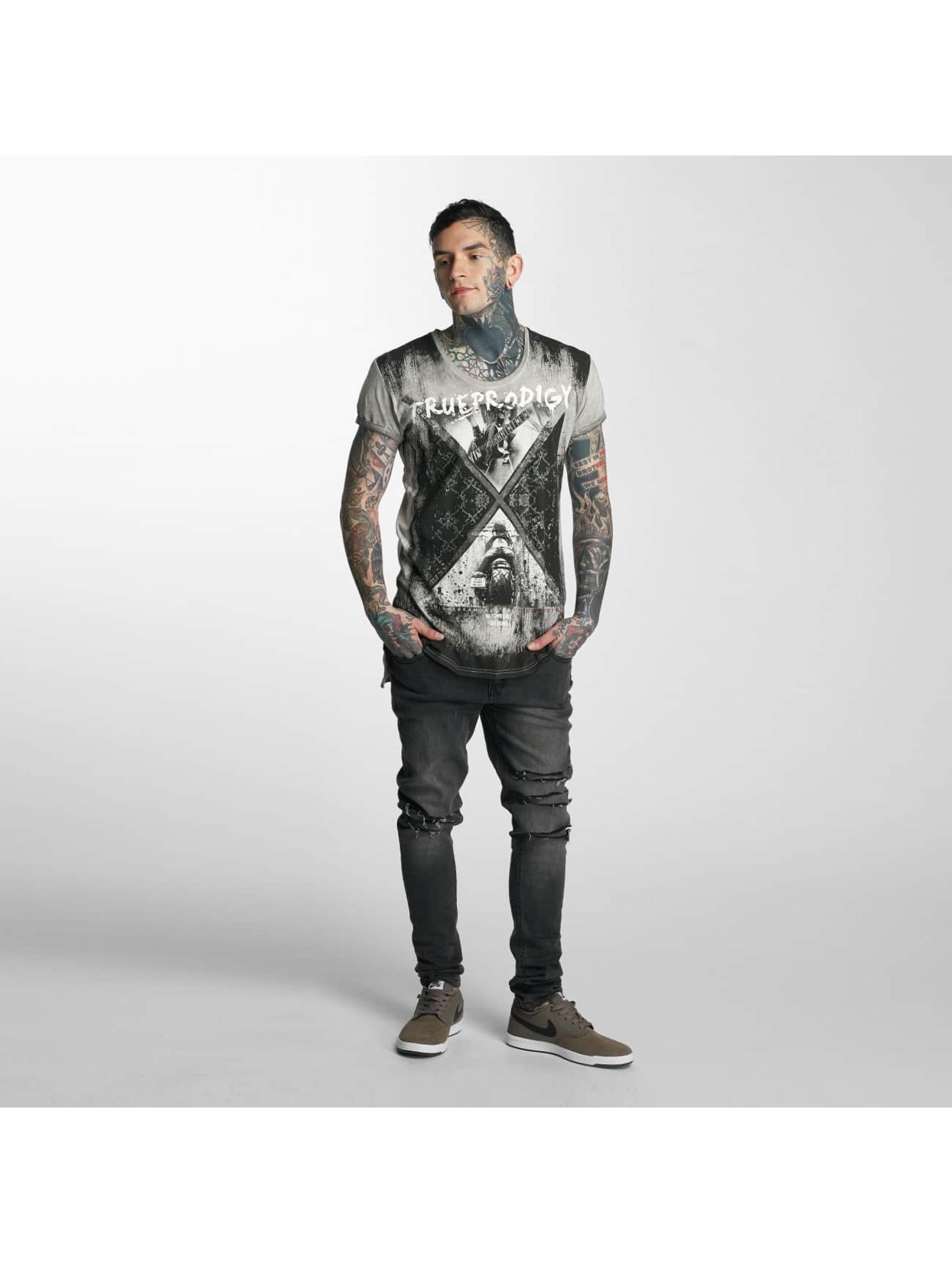 trueprodigy T-shirt Rock & Riding grigio