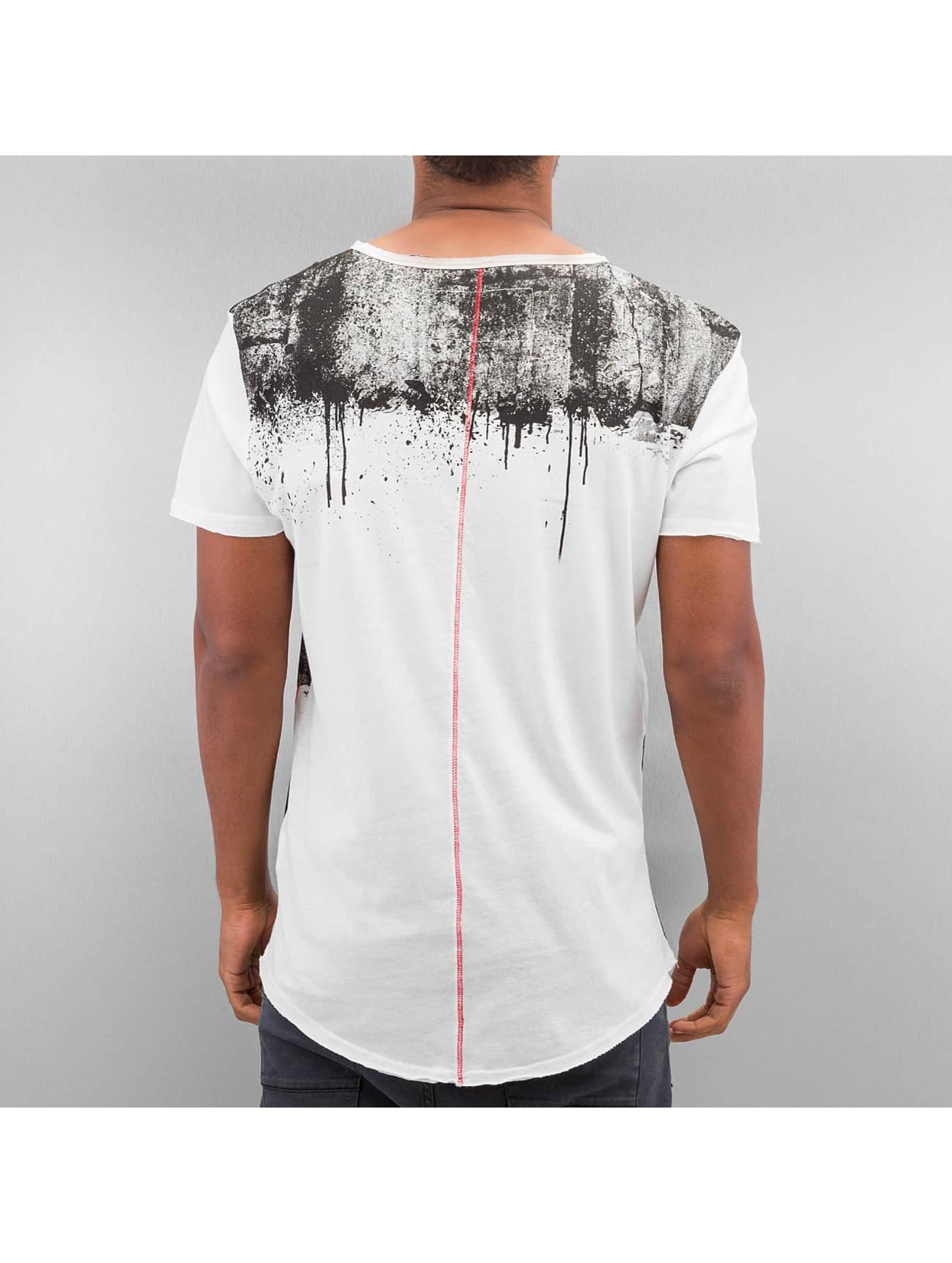 trueprodigy T-Shirt Stripe Printed gris