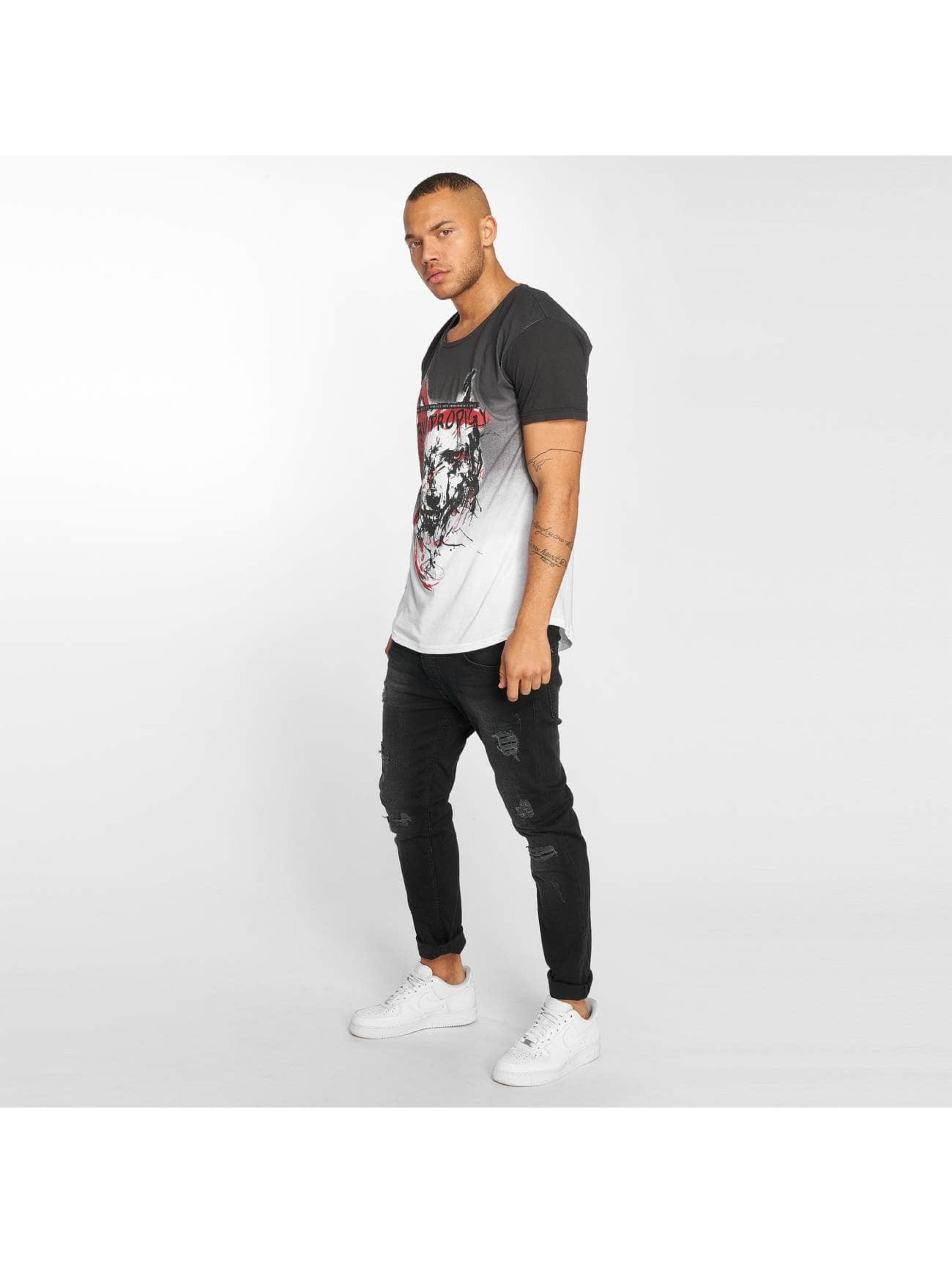 trueprodigy T-Shirt Angry Wolf noir