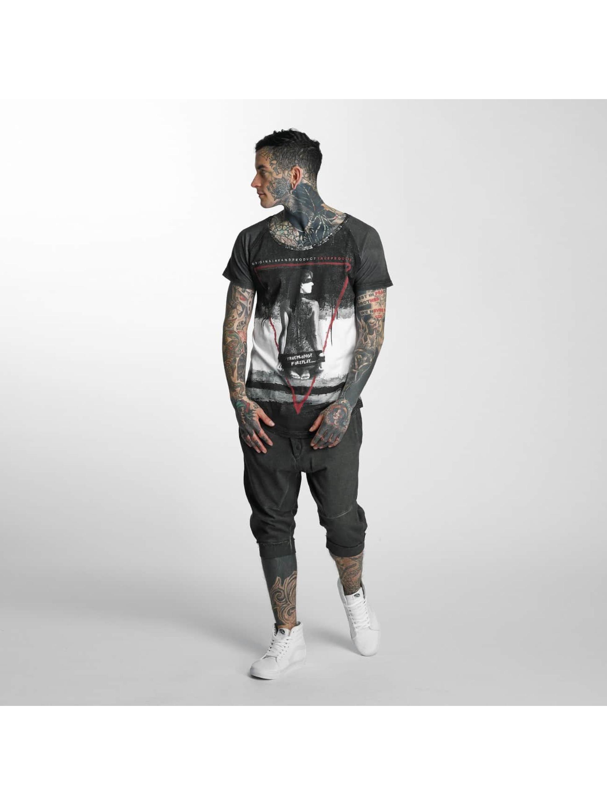 trueprodigy T-Shirt Foreplay schwarz