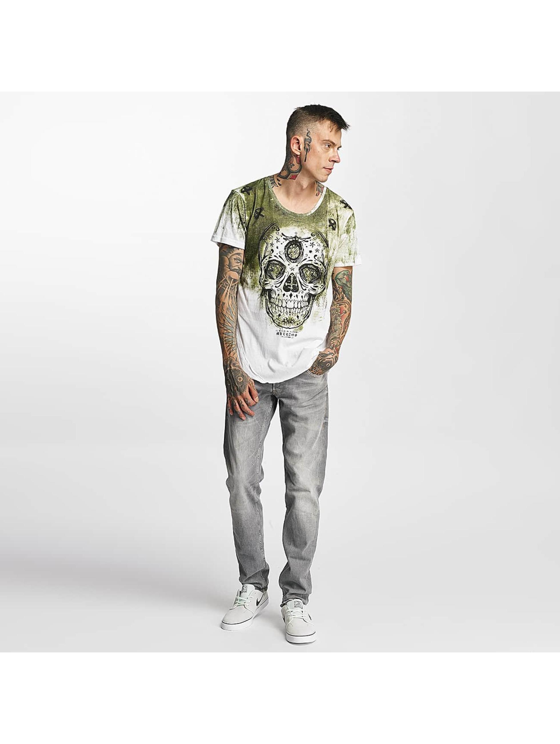 trueprodigy T-Shirt Skull vert
