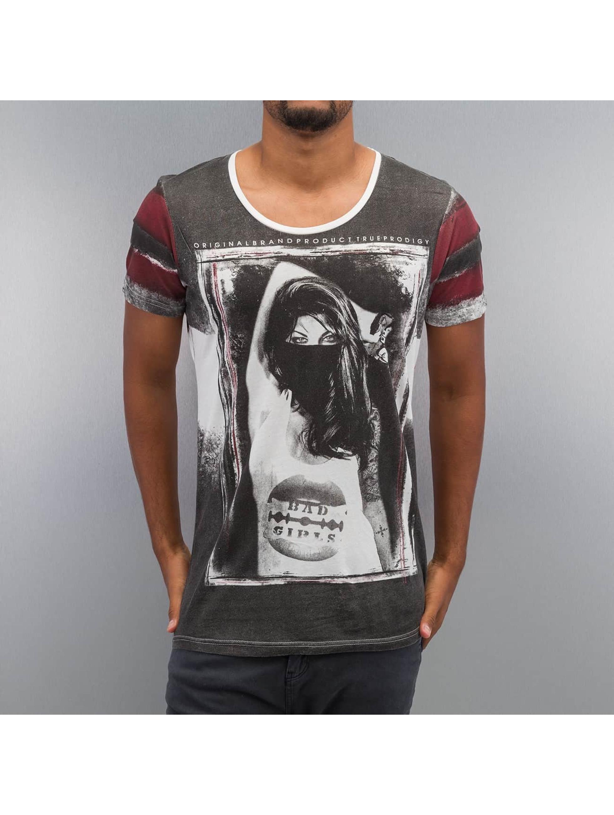 trueprodigy T-Shirty Photoprint bialy