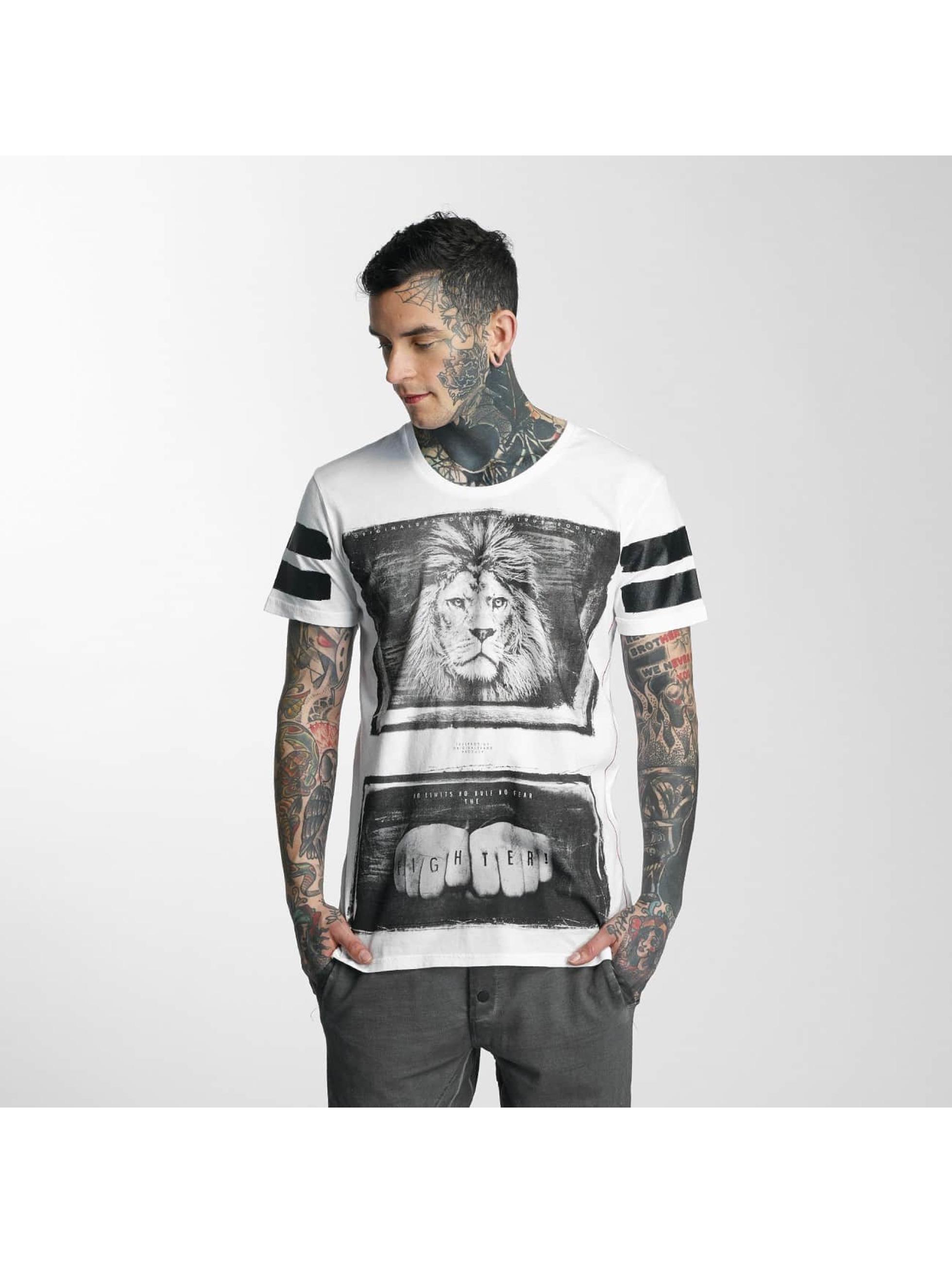 trueprodigy T-skjorter Fighter hvit