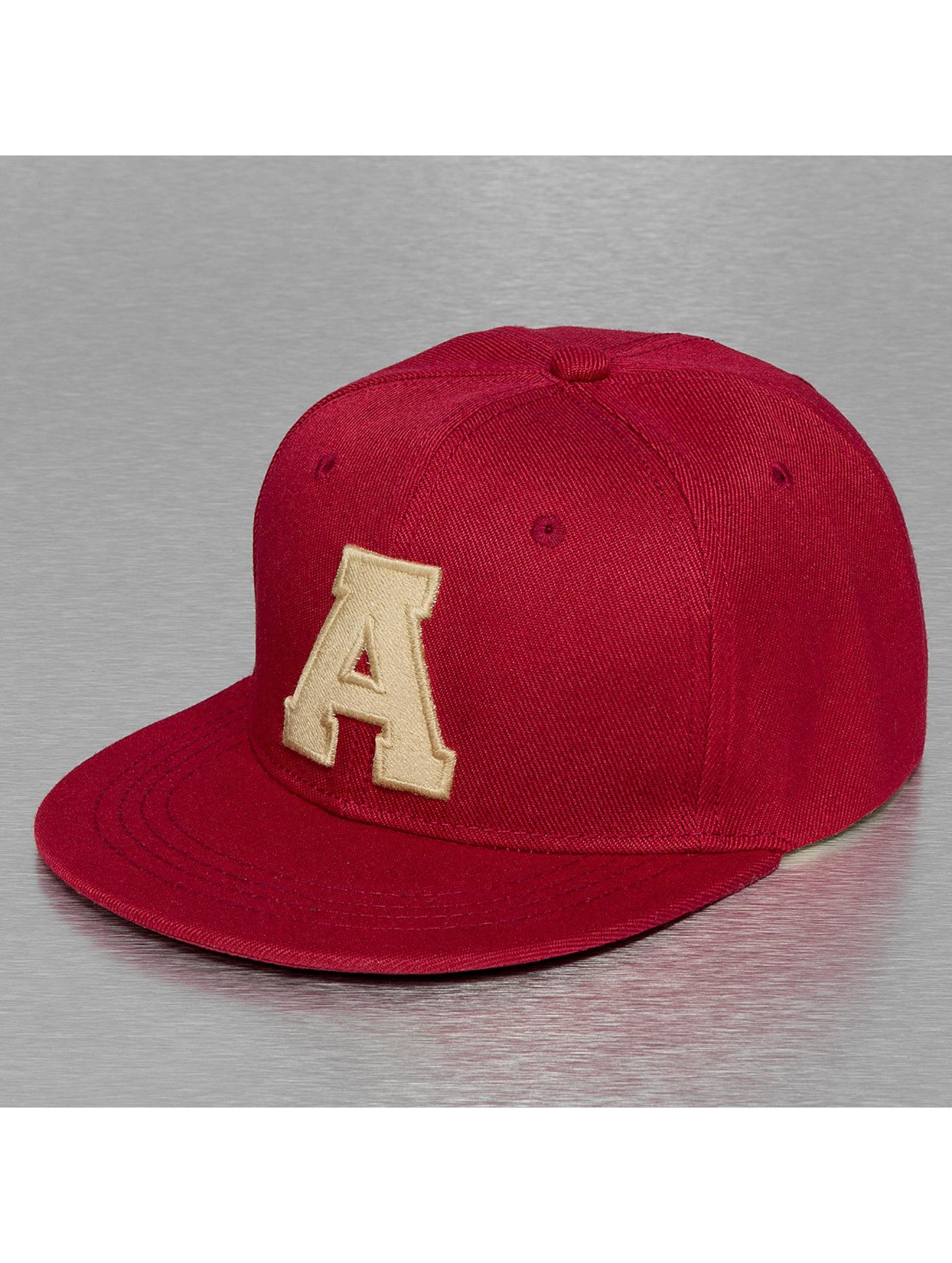 TrueSpin Кепка с застёжкой A-ABC Edition красный