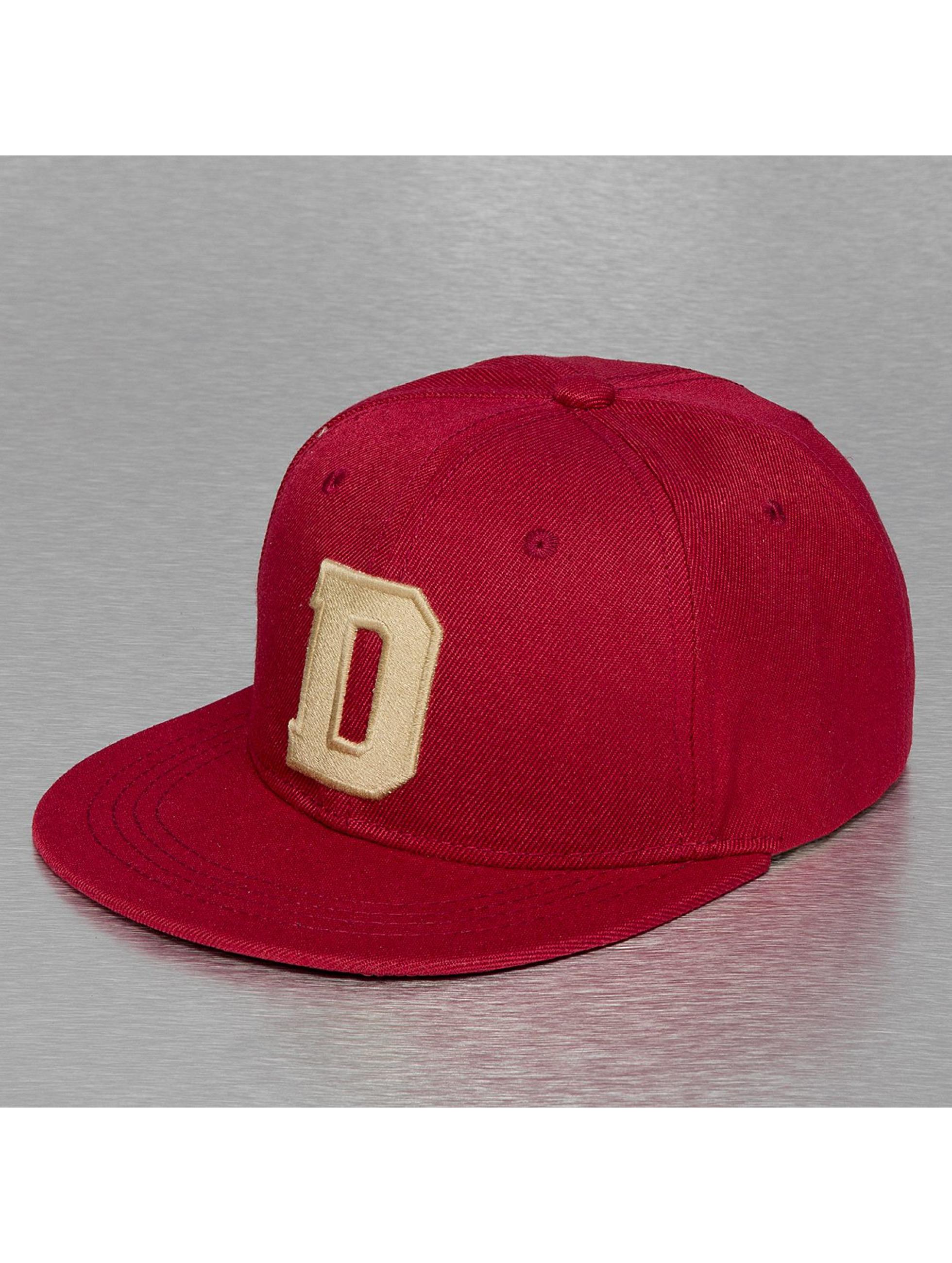TrueSpin Кепка с застёжкой D-ABC Edition красный