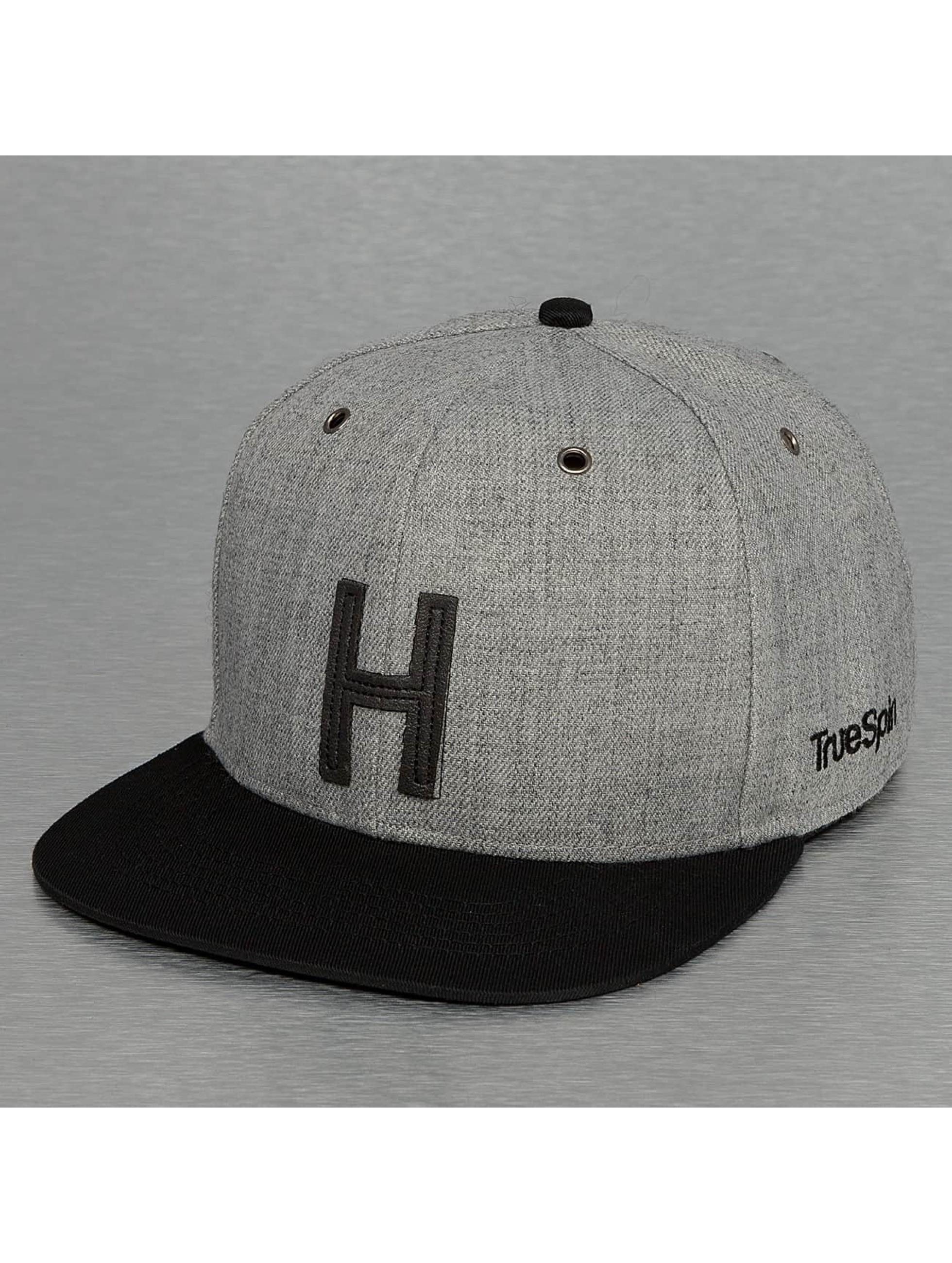 TrueSpin Кепка с застёжкой ABC-H Wool серый