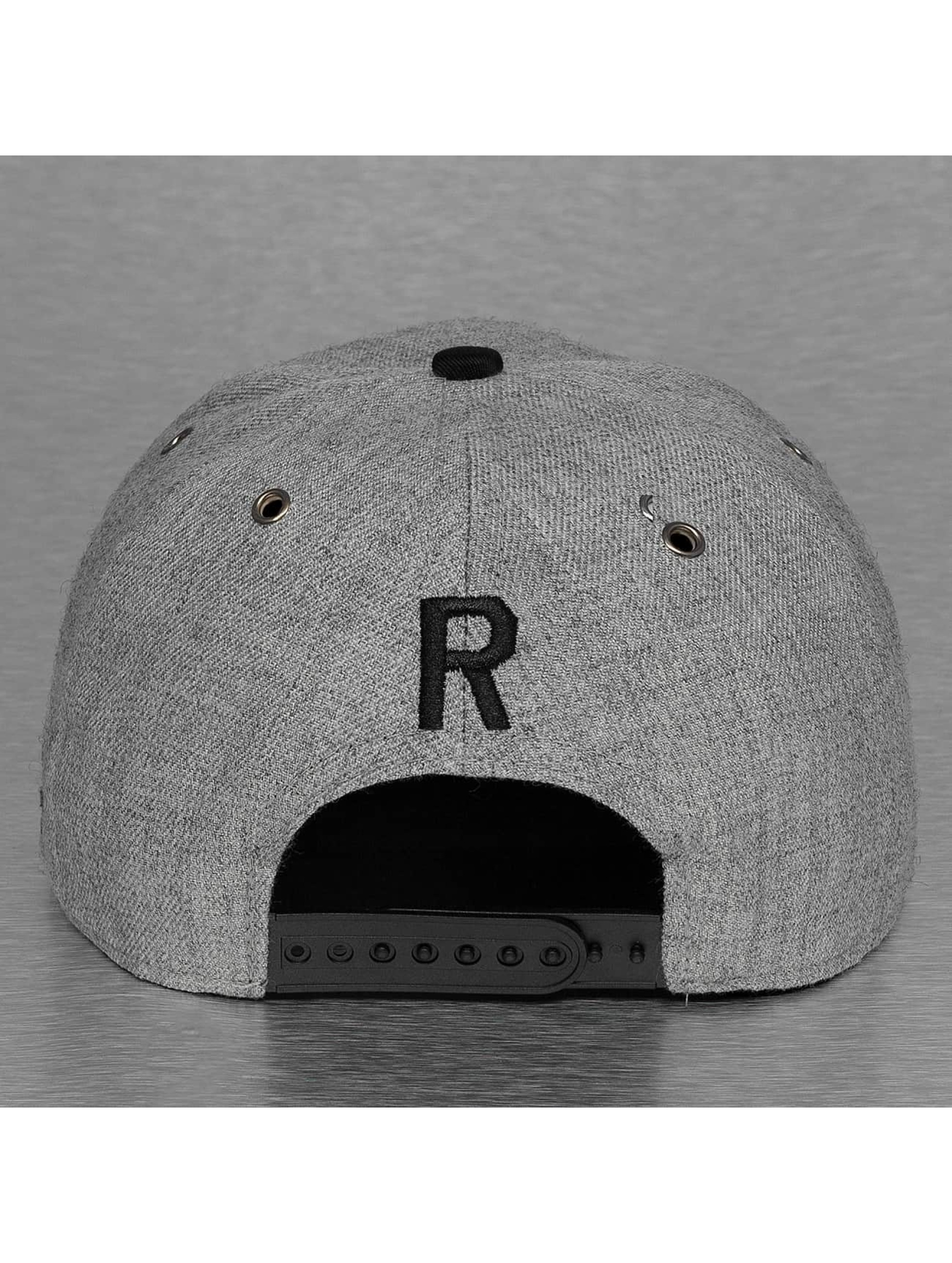 TrueSpin Кепка с застёжкой ABC-R Wool серый