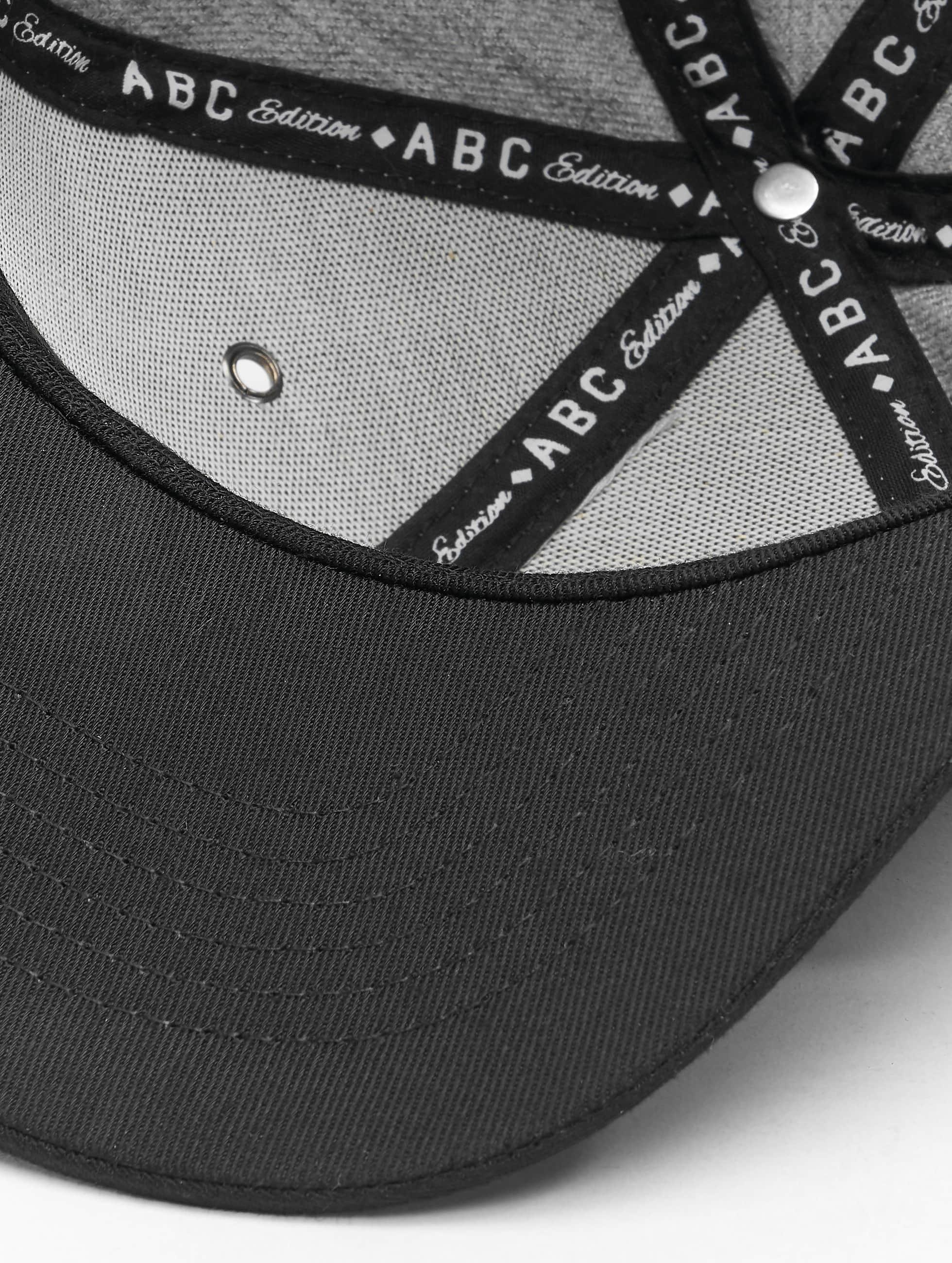 TrueSpin Кепка с застёжкой ABC-U Wool серый
