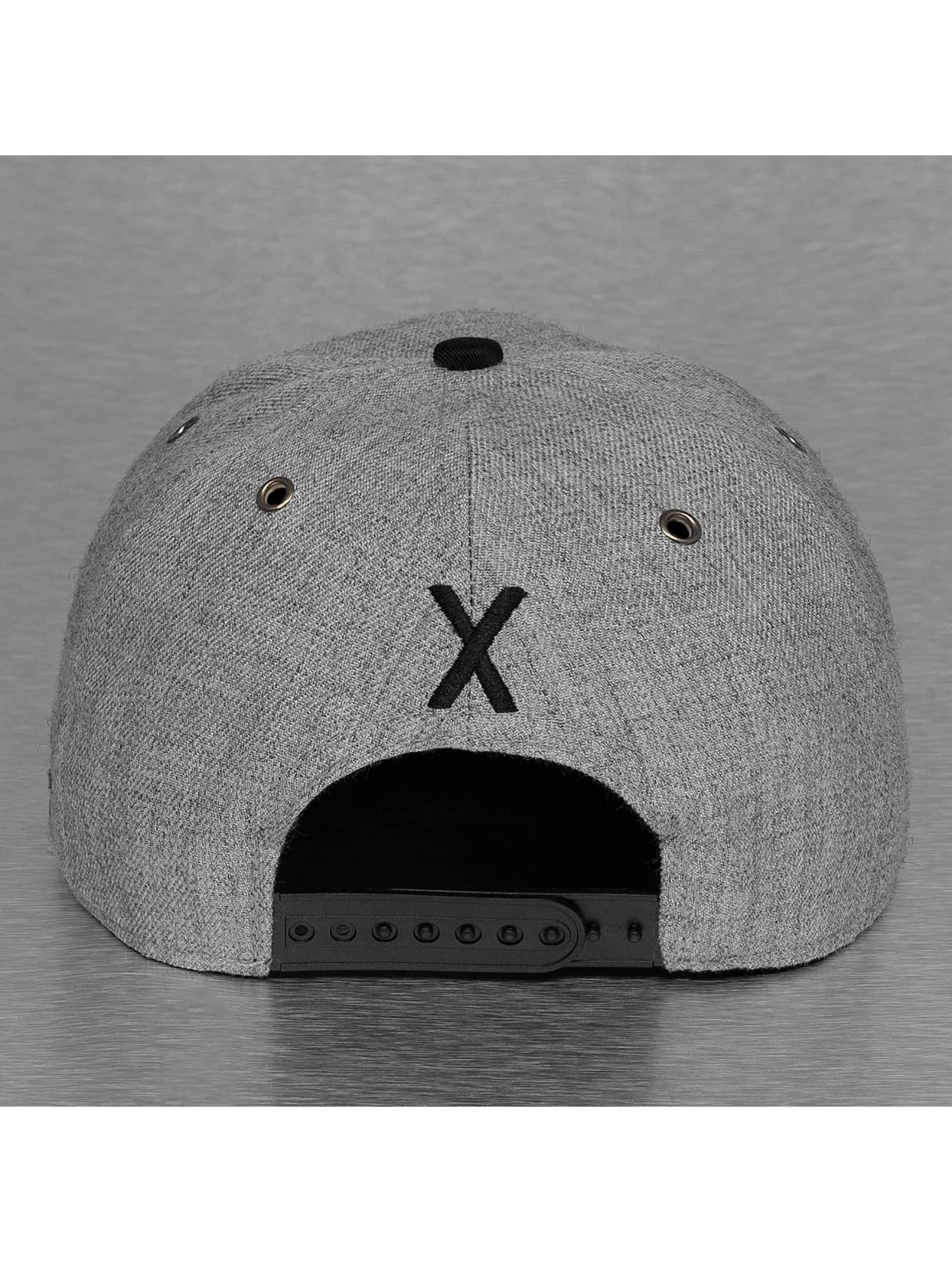 TrueSpin Кепка с застёжкой ABC-X Wool серый