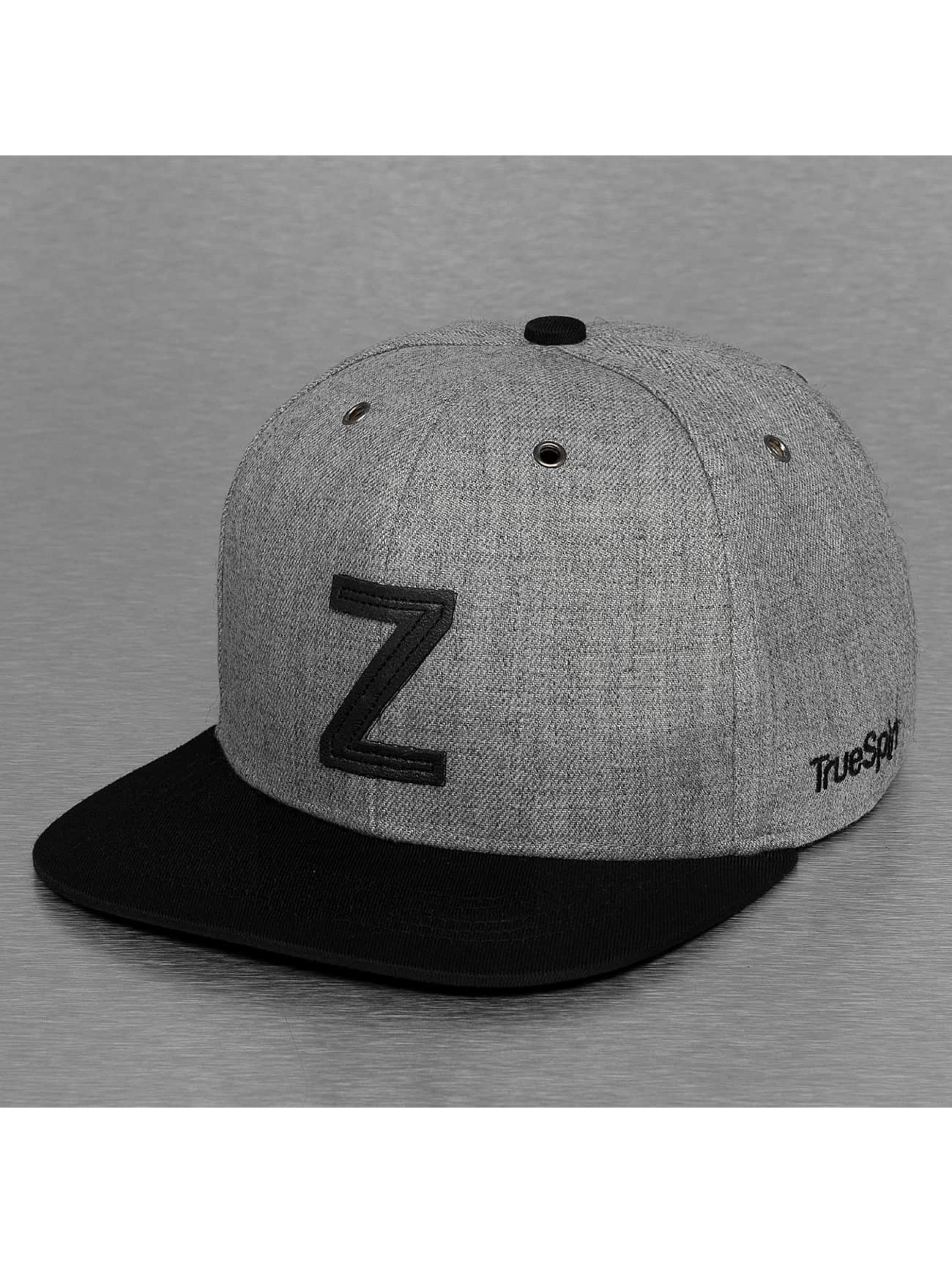 TrueSpin Кепка с застёжкой ABC-Z Wool серый