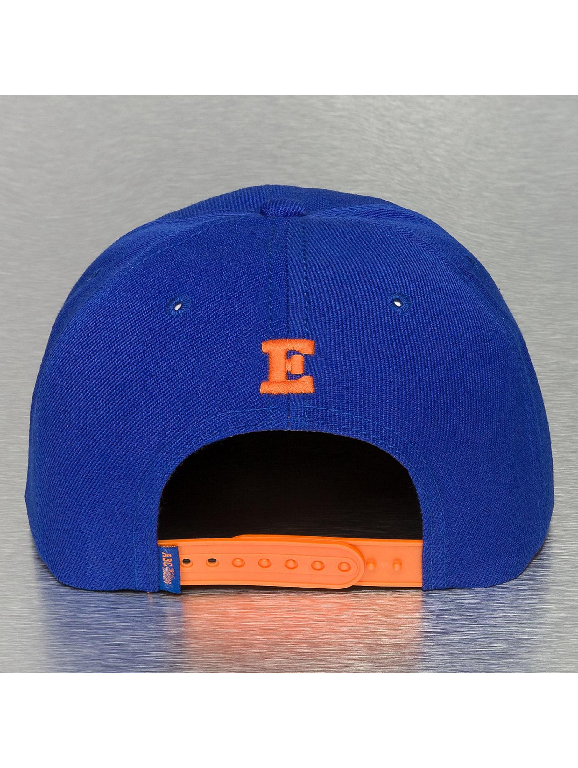 TrueSpin Кепка с застёжкой E-ABC Edition синий