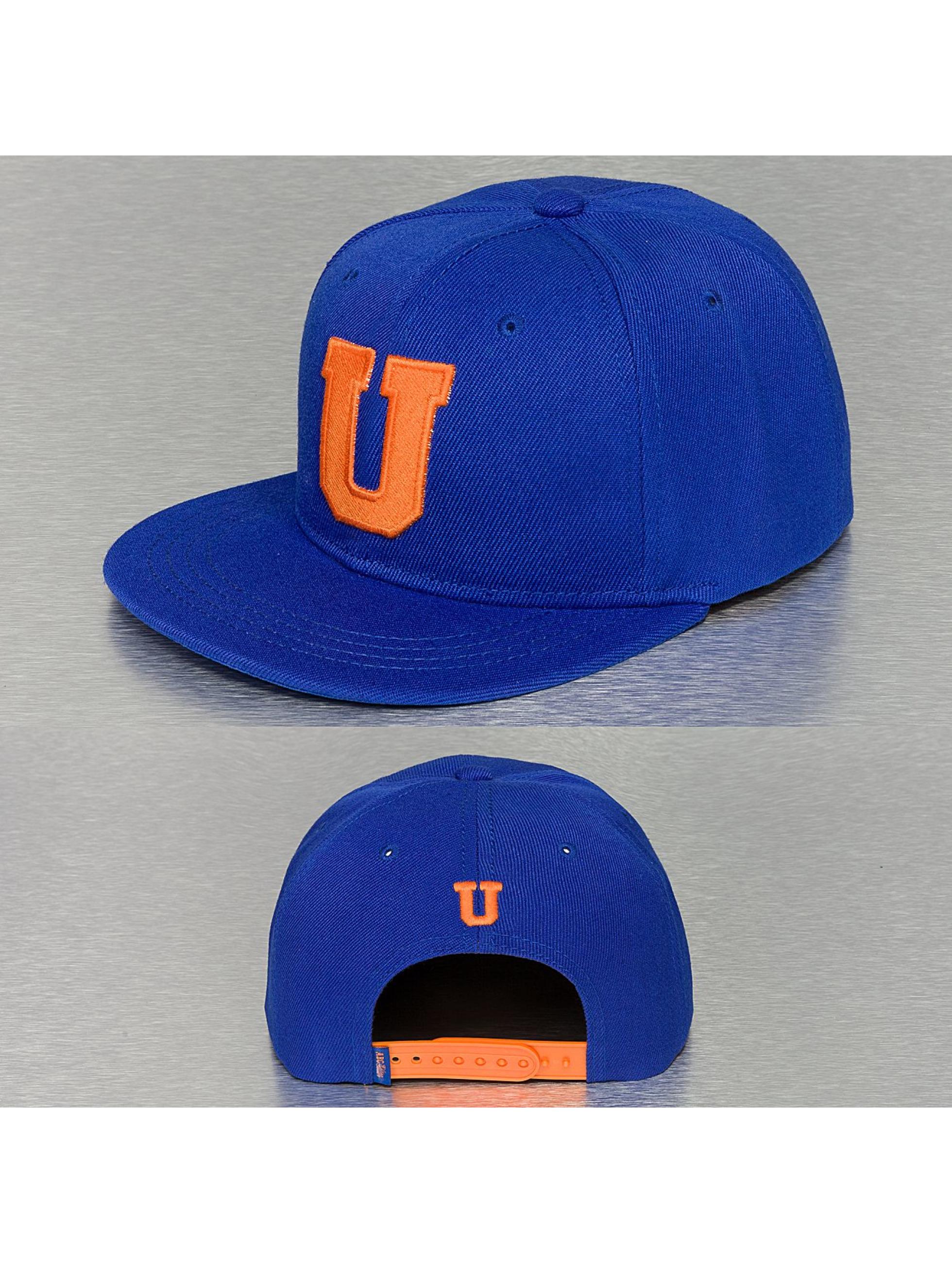 TrueSpin Кепка с застёжкой U-ABC Edition синий