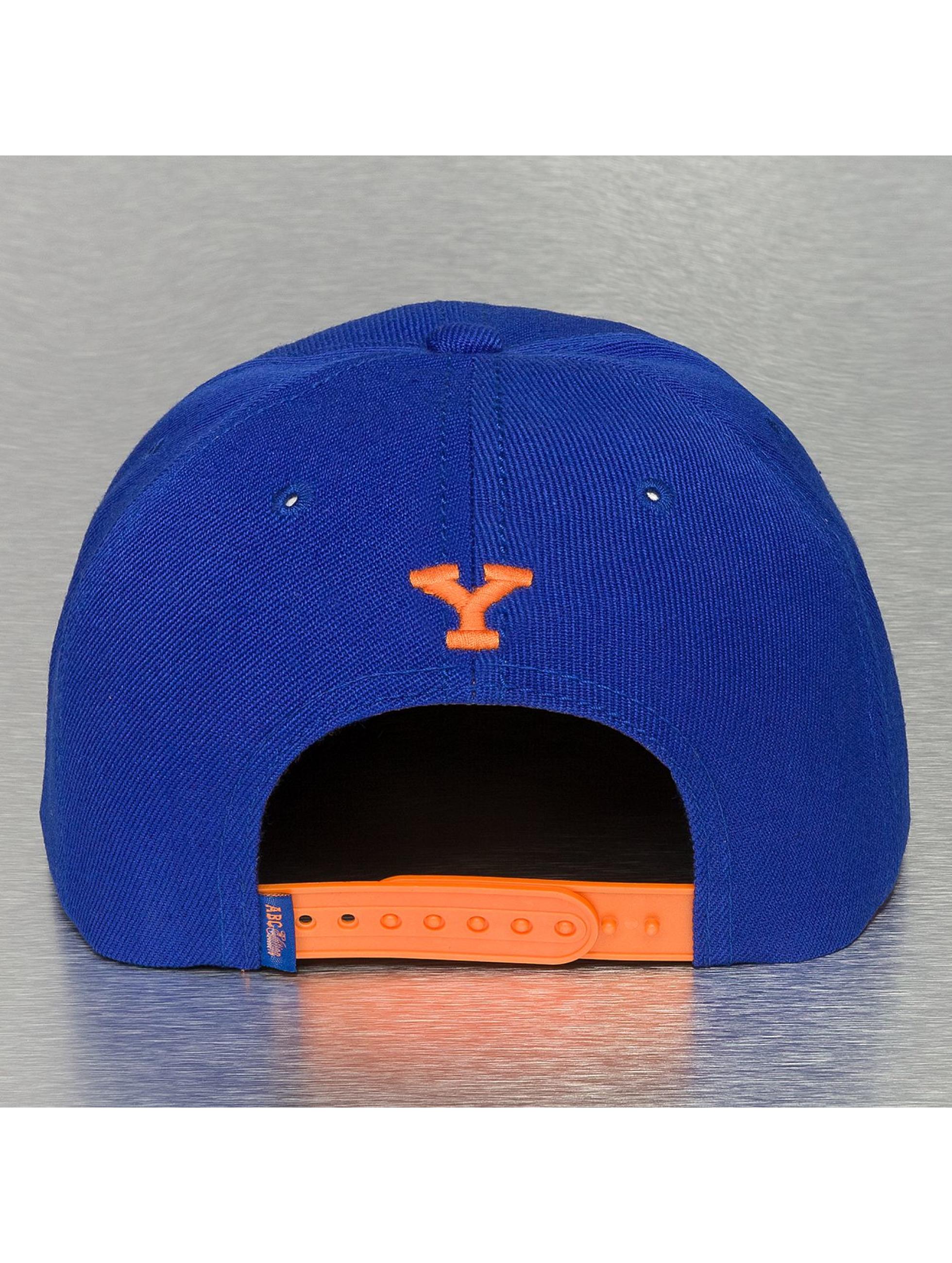 TrueSpin Кепка с застёжкой Y-ABC Edition синий