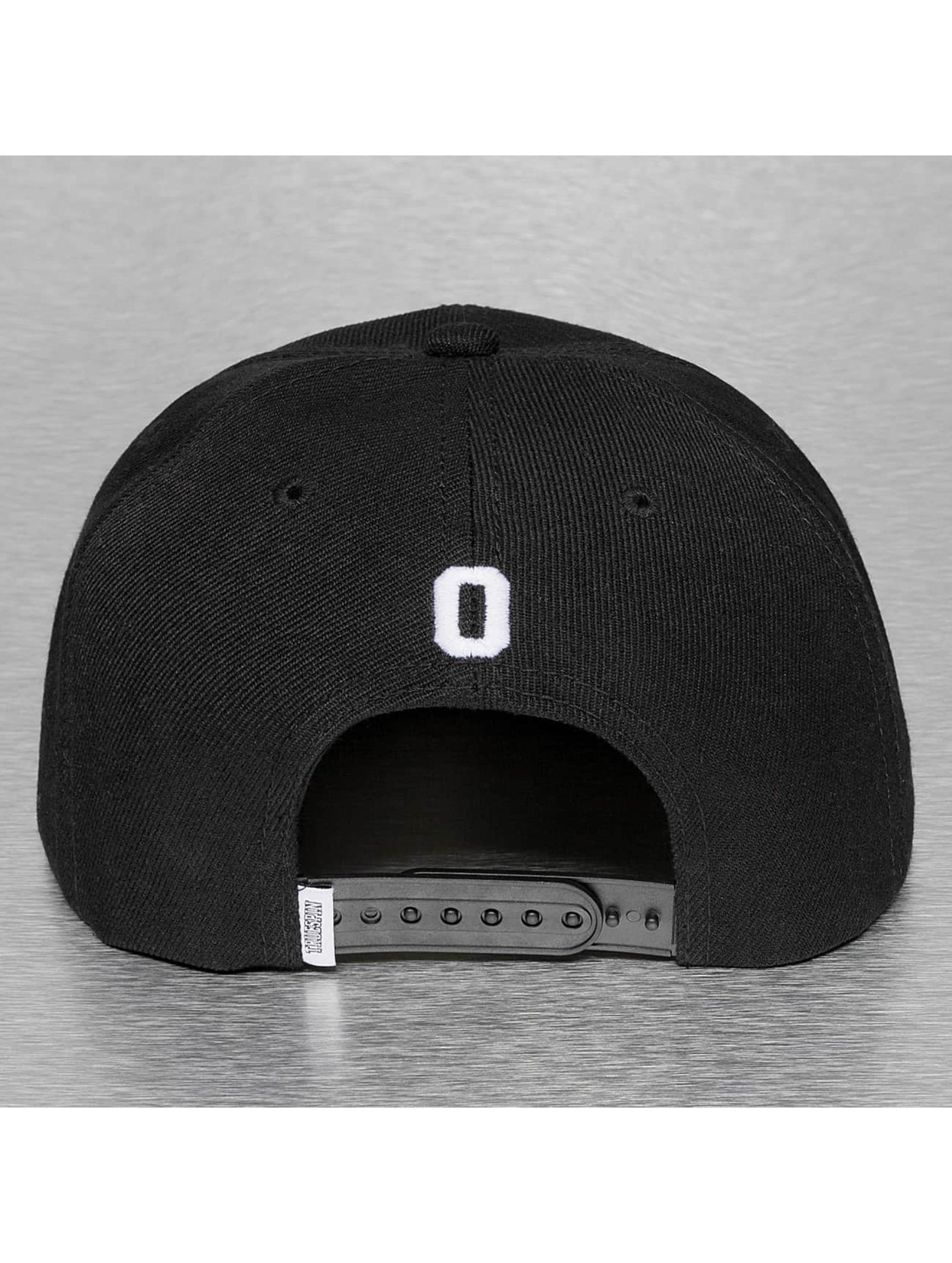 TrueSpin Кепка с застёжкой O-ABC черный