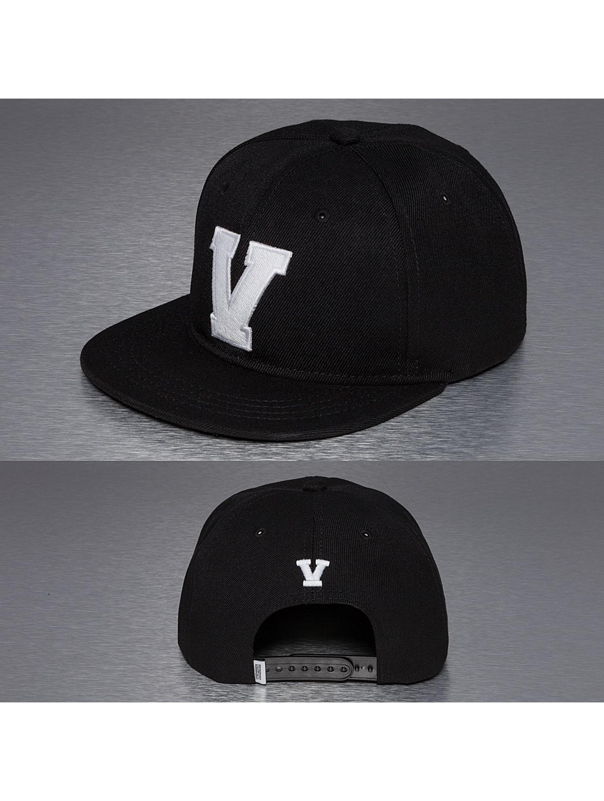 TrueSpin Кепка с застёжкой V-ABC черный