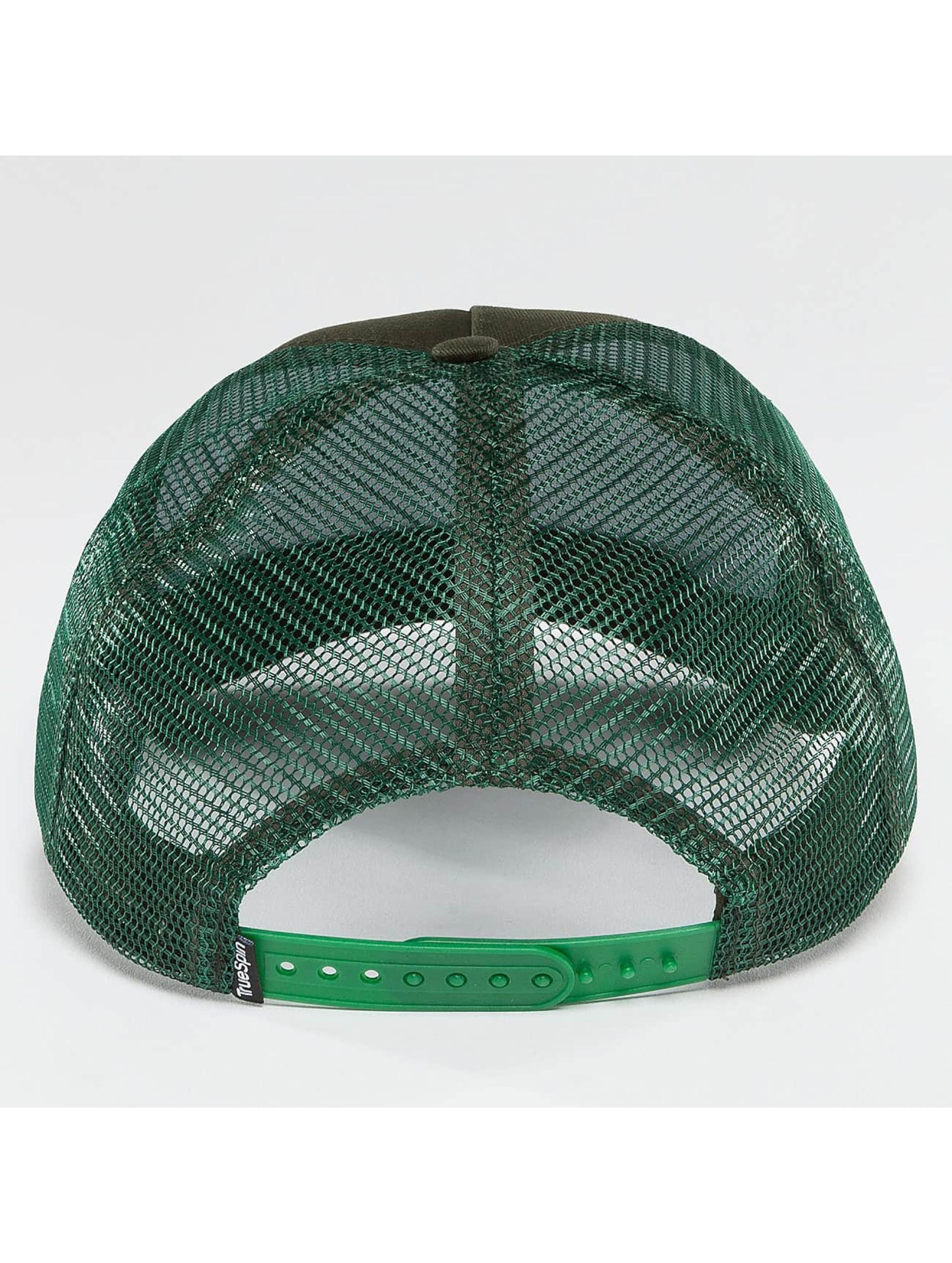TrueSpin Кепка тракер Blank зеленый