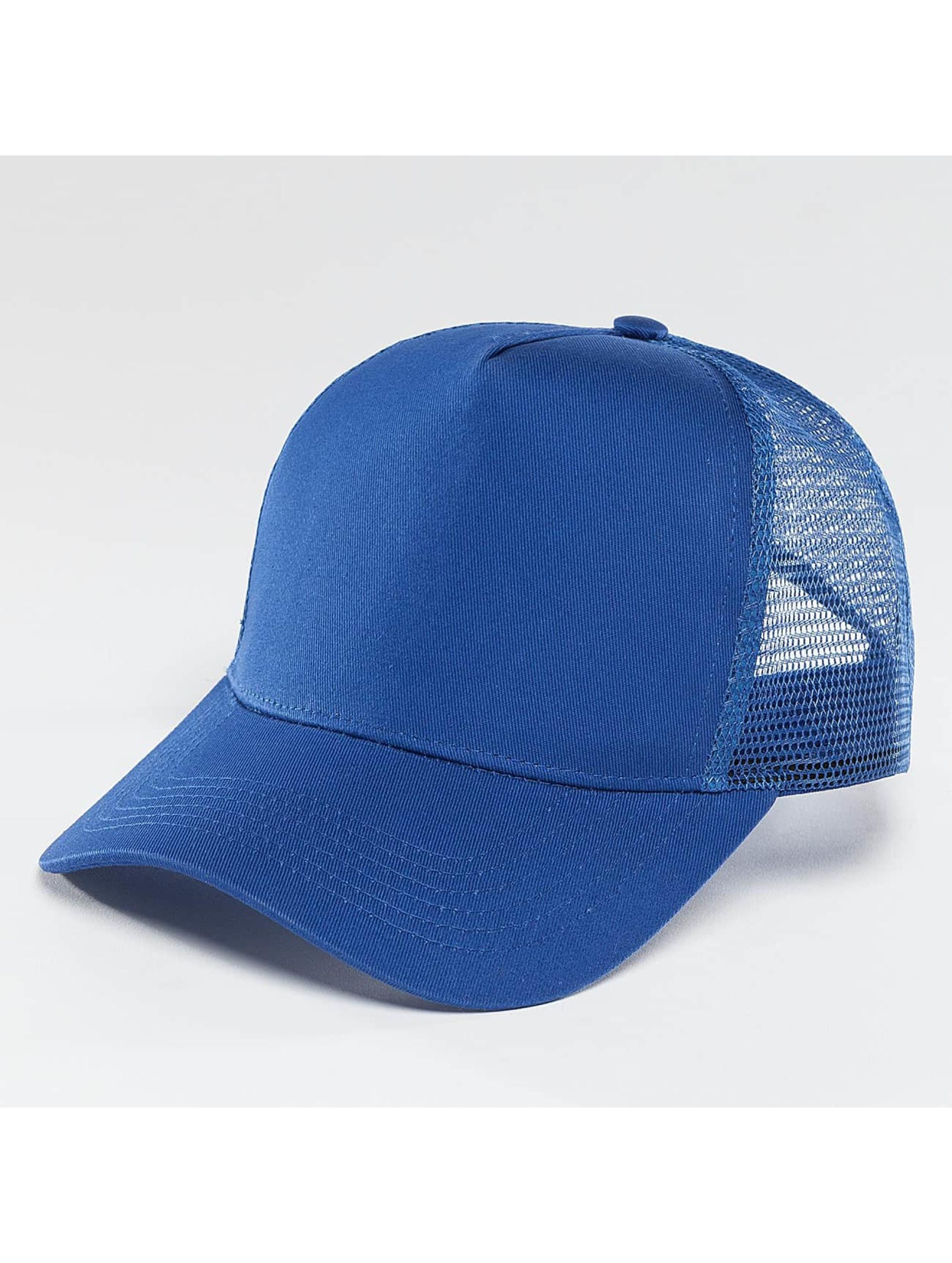 TrueSpin Кепка тракер Blank синий