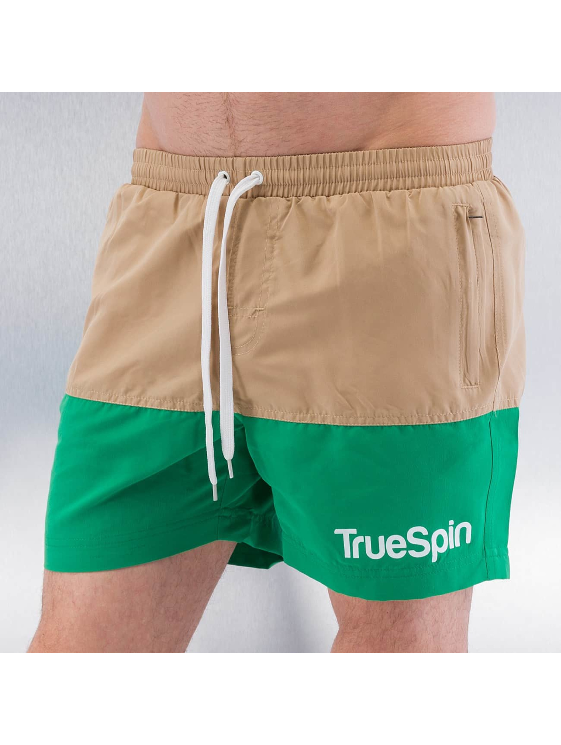 TrueSpin Badeshorts Swimming braun