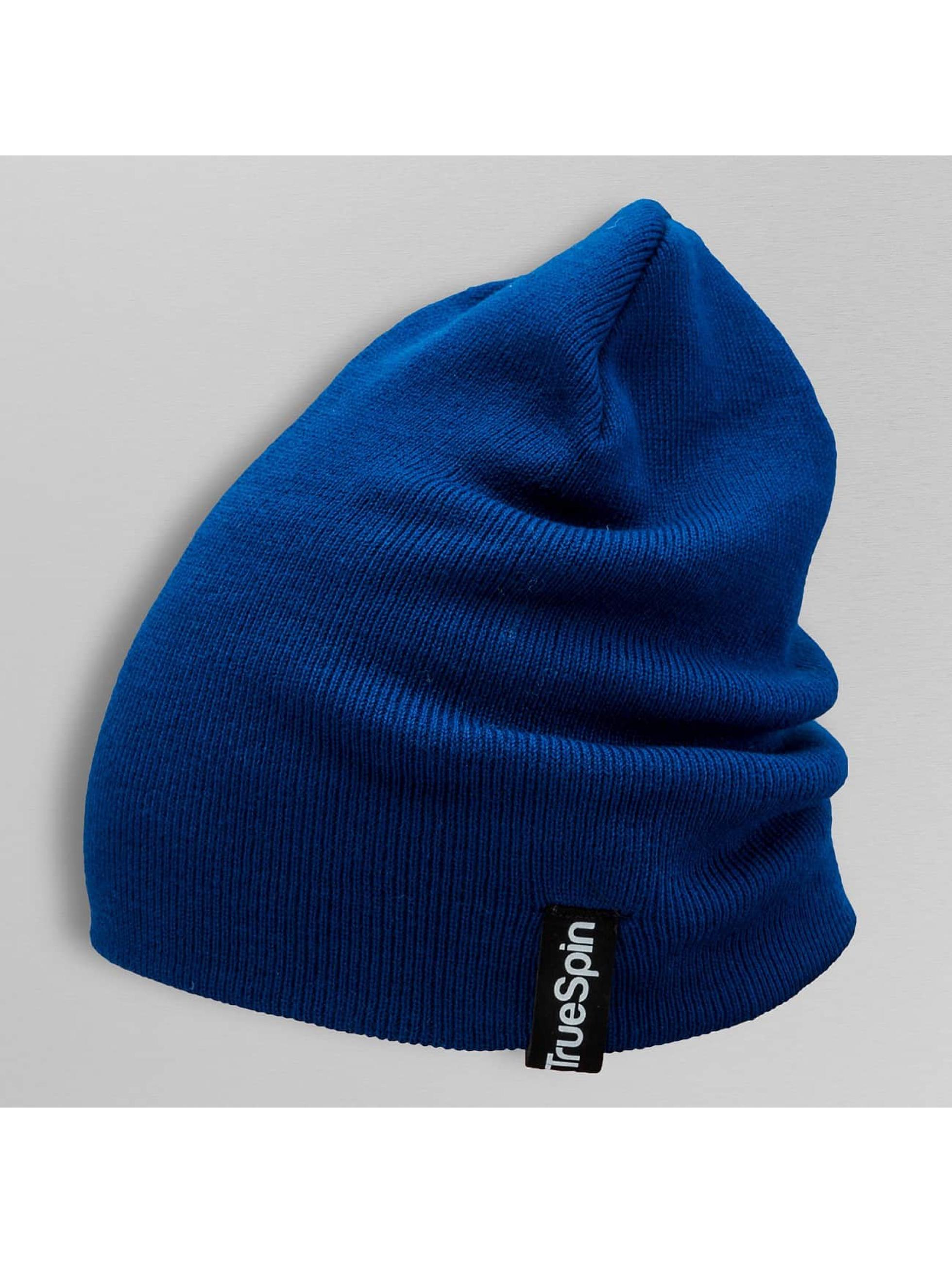 TrueSpin Beanie Basic Style blue