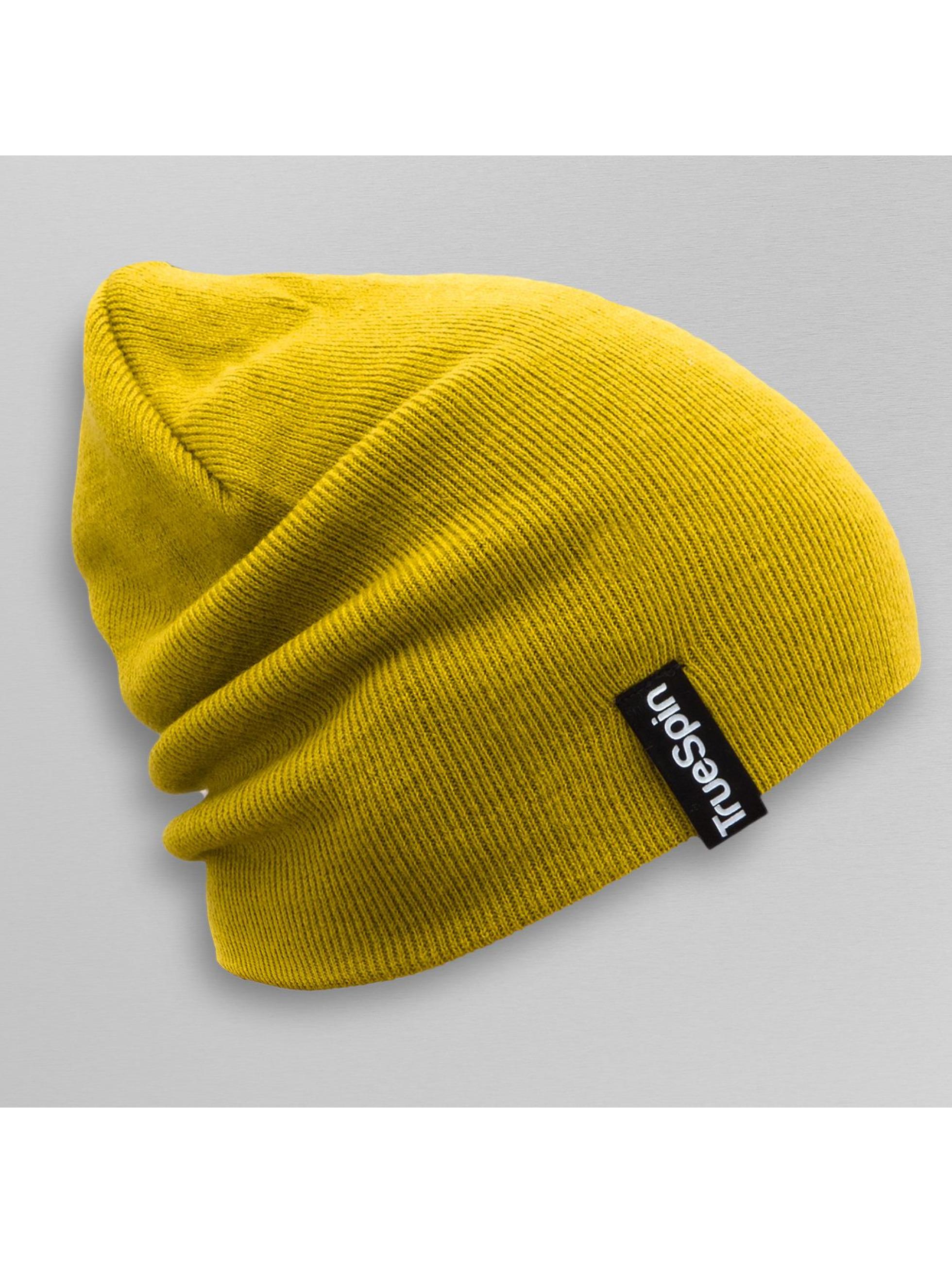 TrueSpin Beanie Basic Style geel