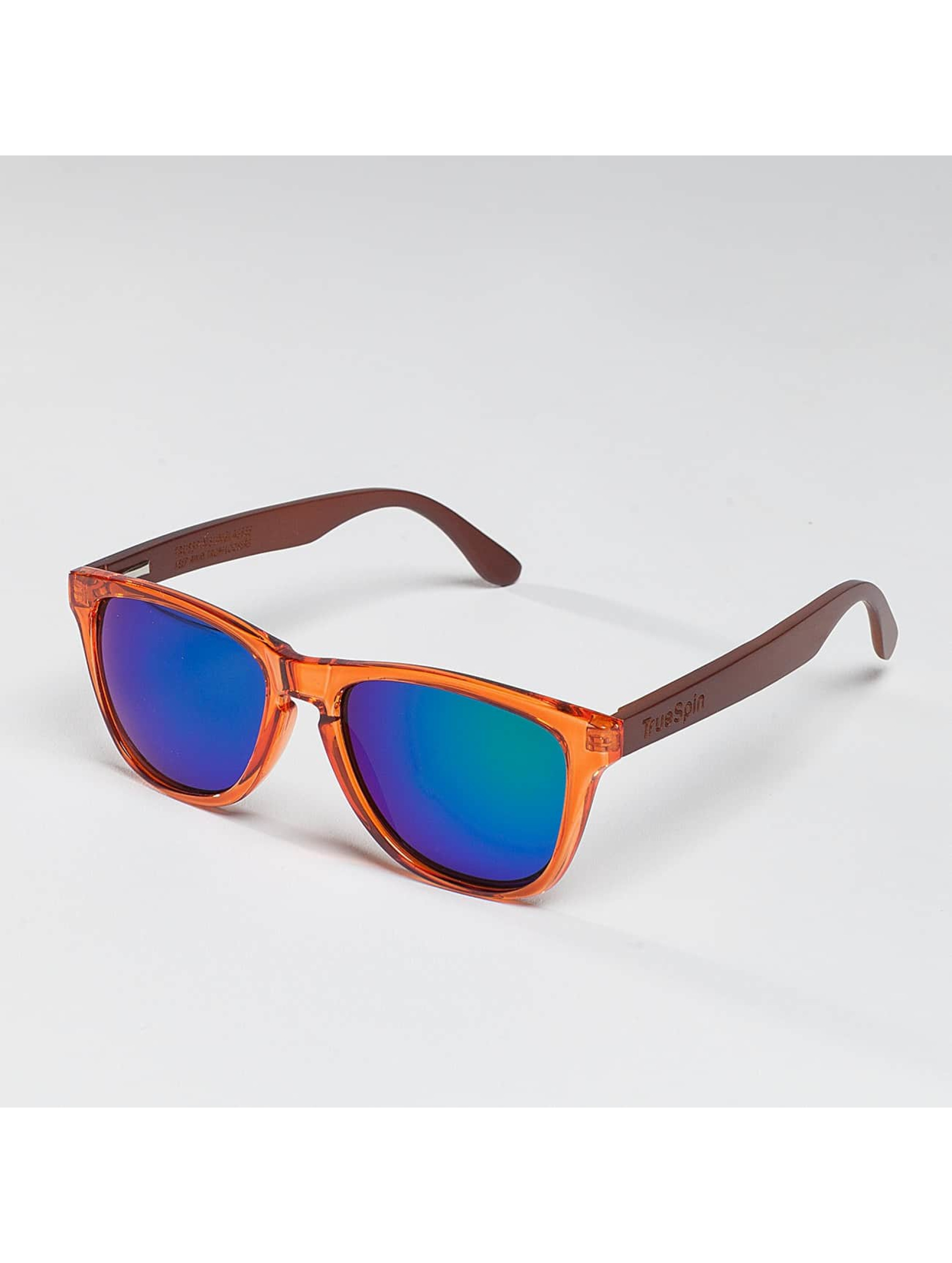TrueSpin Briller Nu Bamboo orange