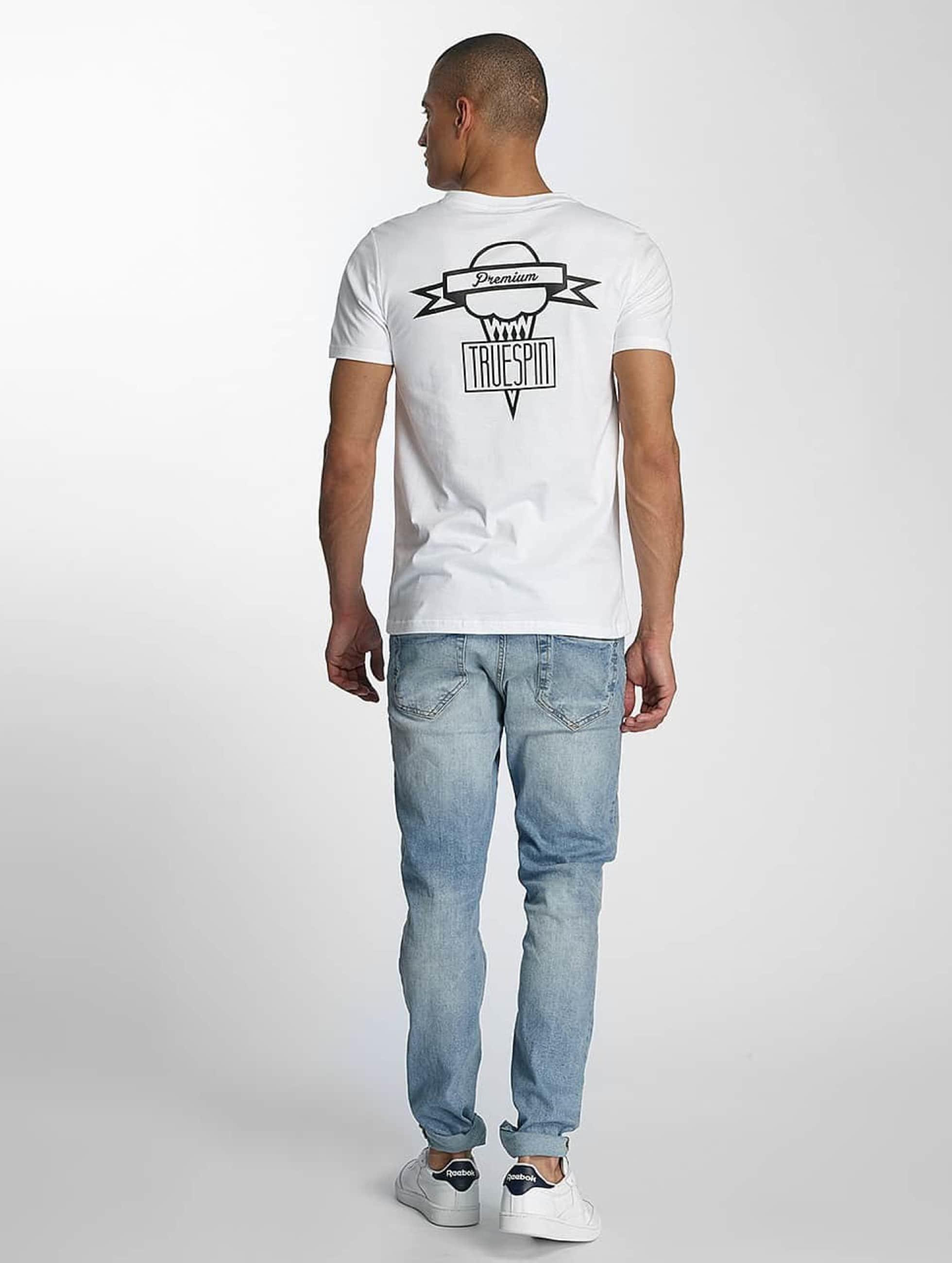 TrueSpin Camiseta 4 blanco