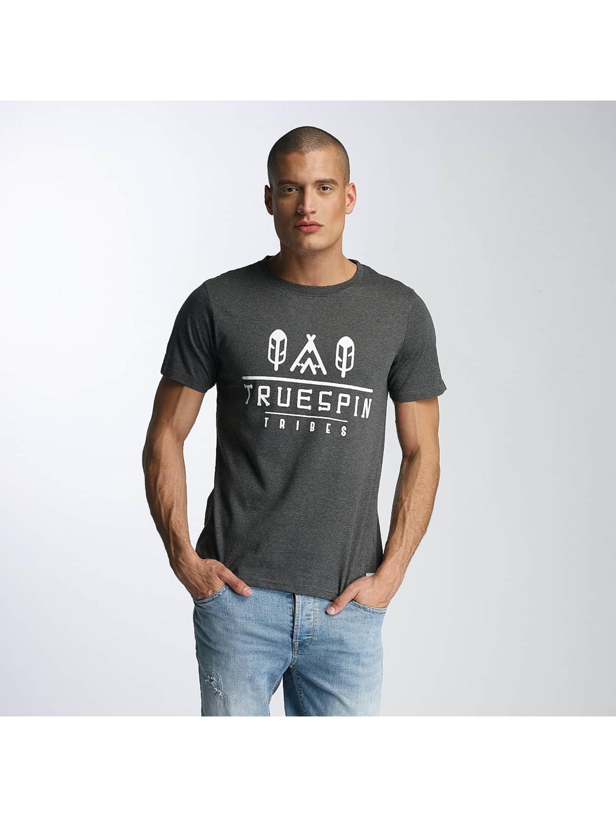 TrueSpin Camiseta 8 gris