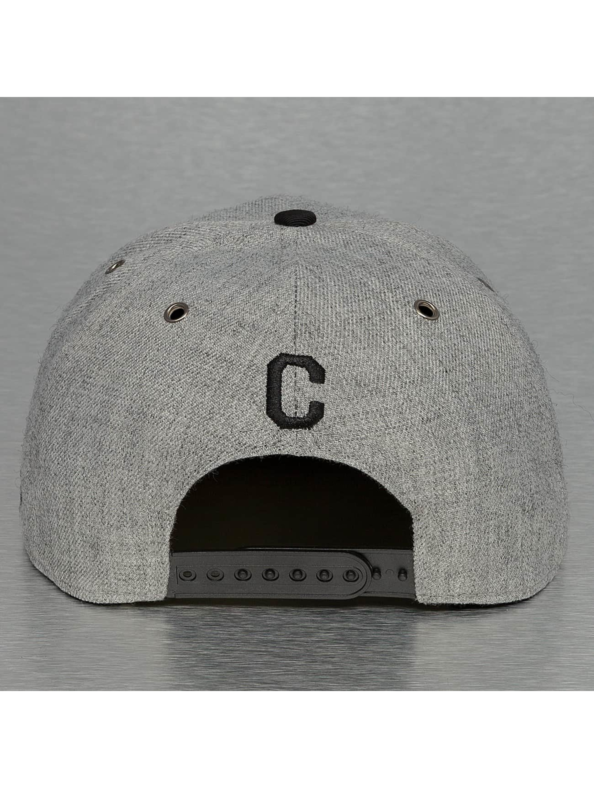 TrueSpin Casquette Snapback & Strapback ABC-C Wool gris