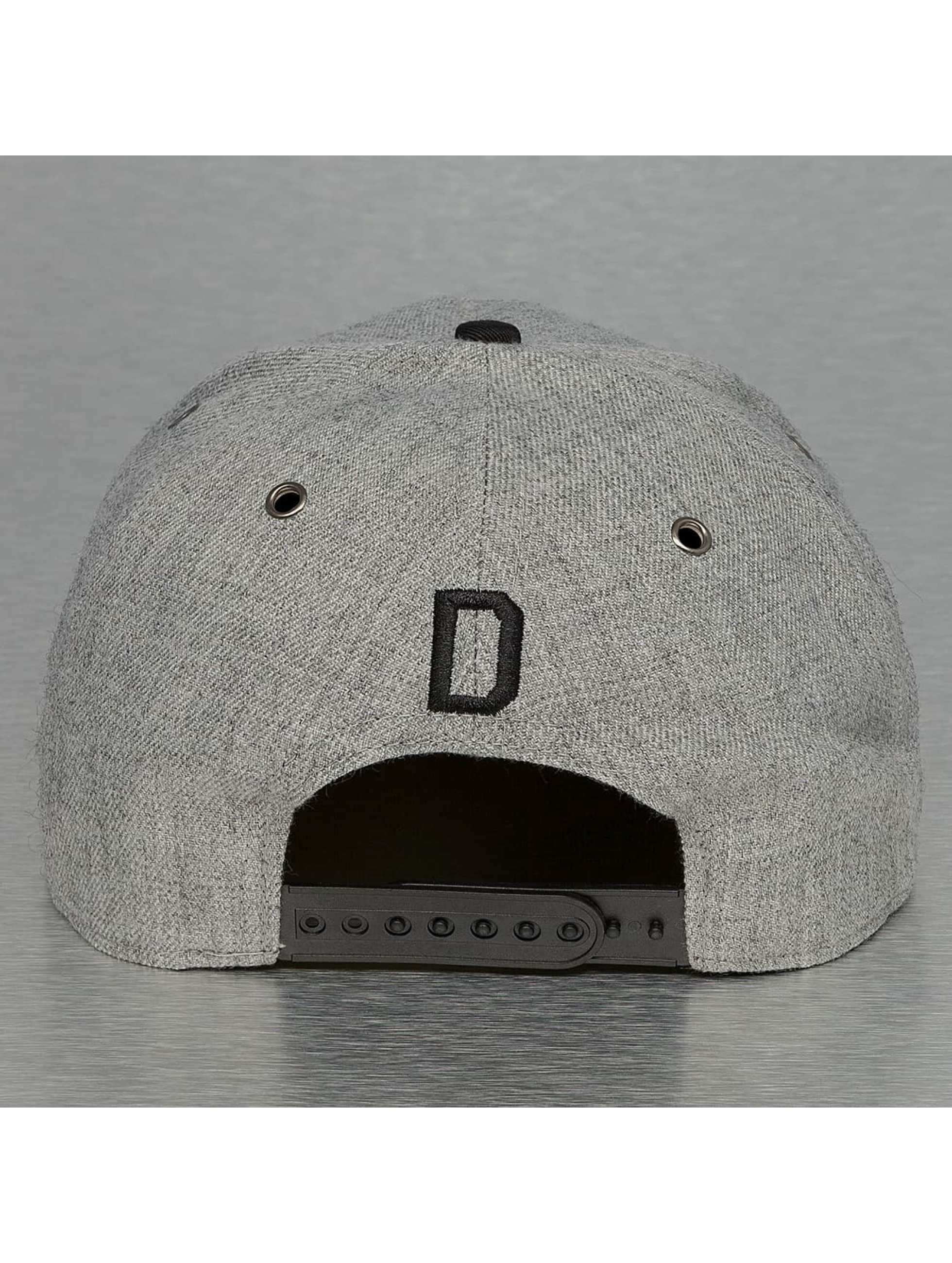 TrueSpin Casquette Snapback & Strapback ABC-D Wool gris