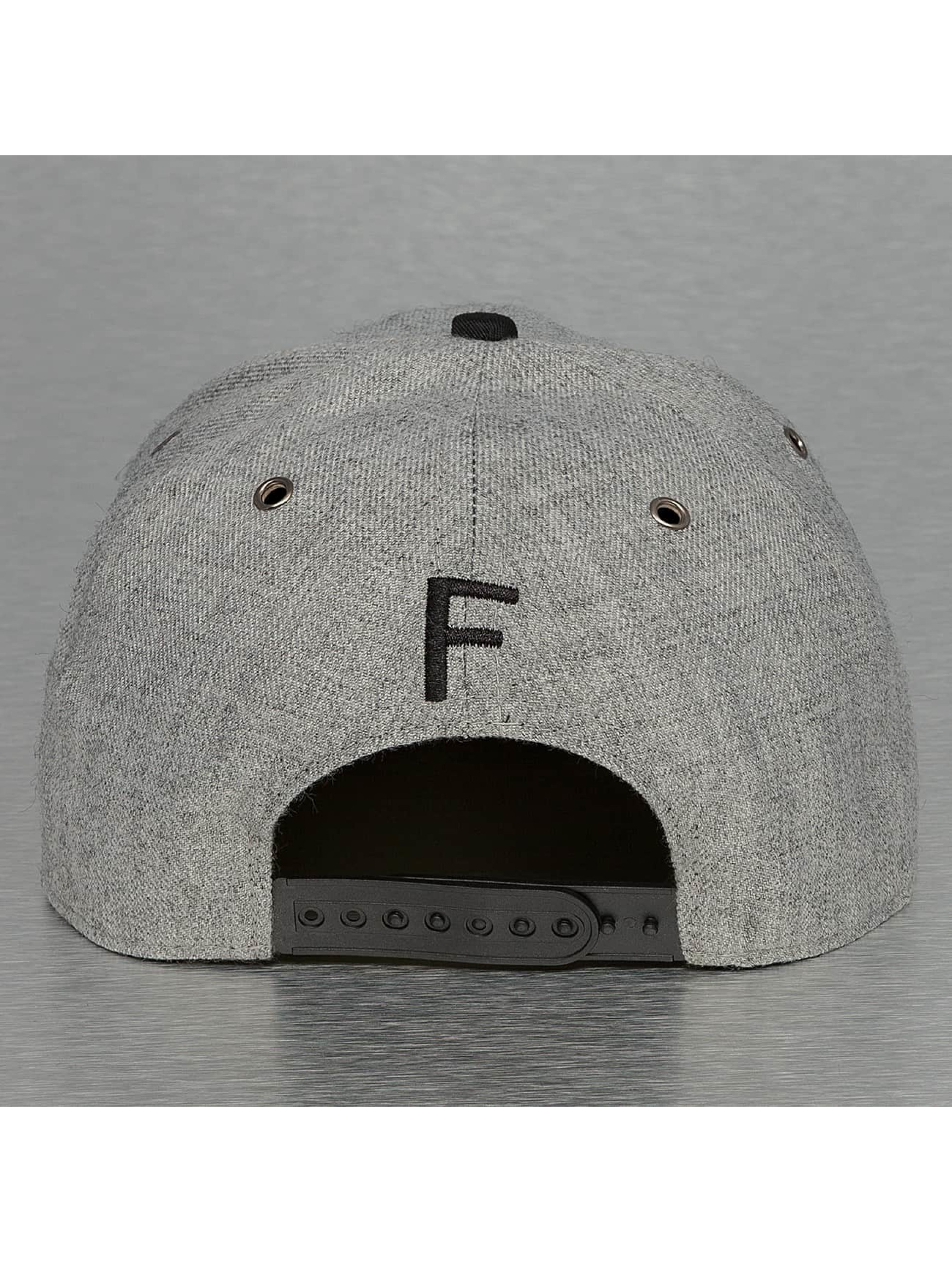 TrueSpin Casquette Snapback & Strapback ABC-F Wool gris