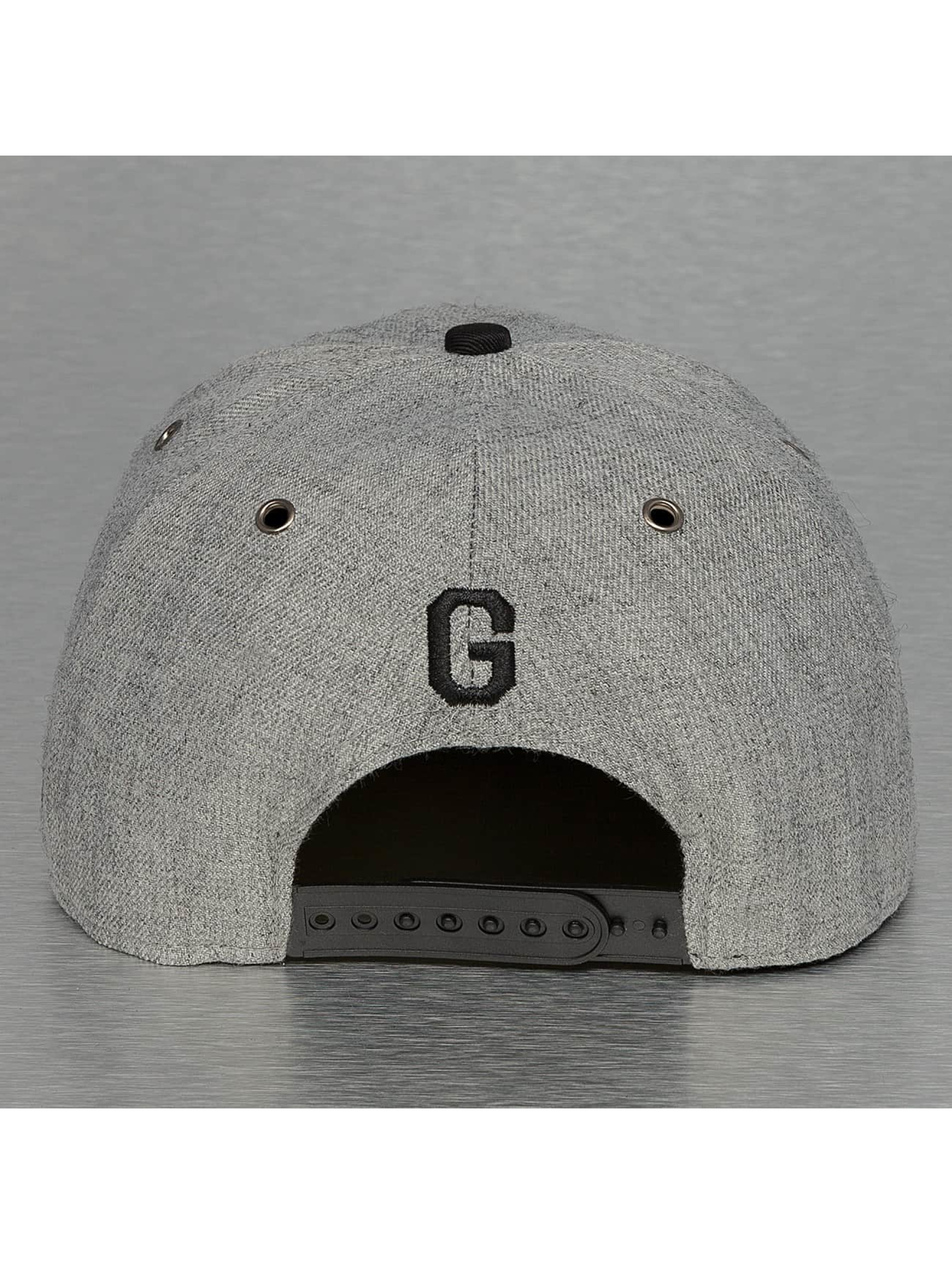 TrueSpin Casquette Snapback & Strapback ABC-G Wool gris