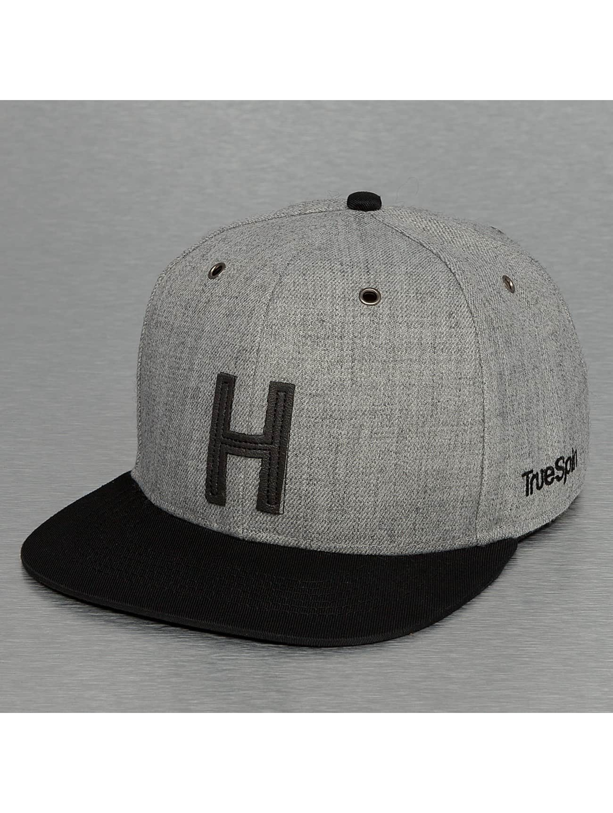 TrueSpin Casquette Snapback & Strapback ABC-H Wool gris