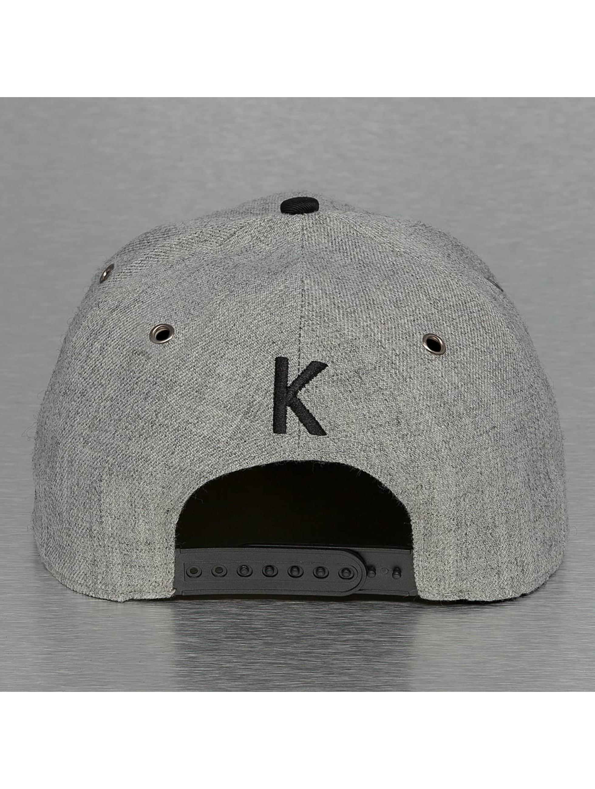 TrueSpin Casquette Snapback & Strapback ABC-K Wool gris