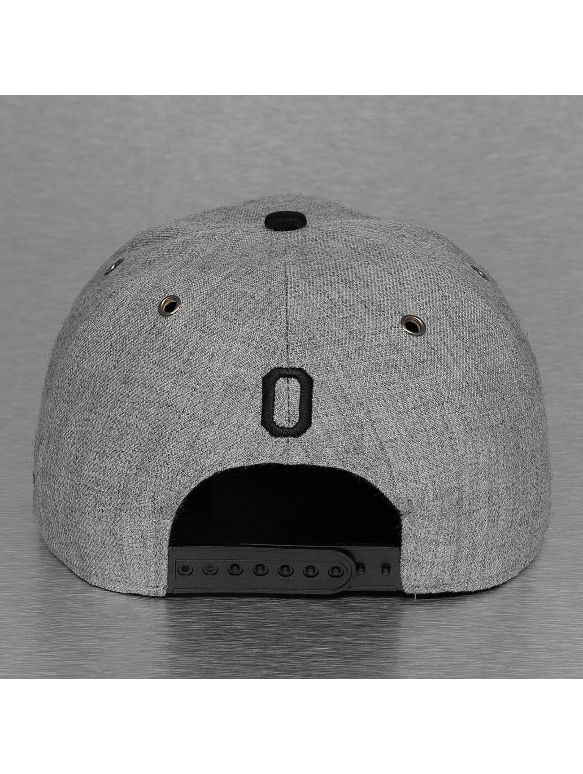 TrueSpin Casquette Snapback & Strapback ABC-O Wool gris