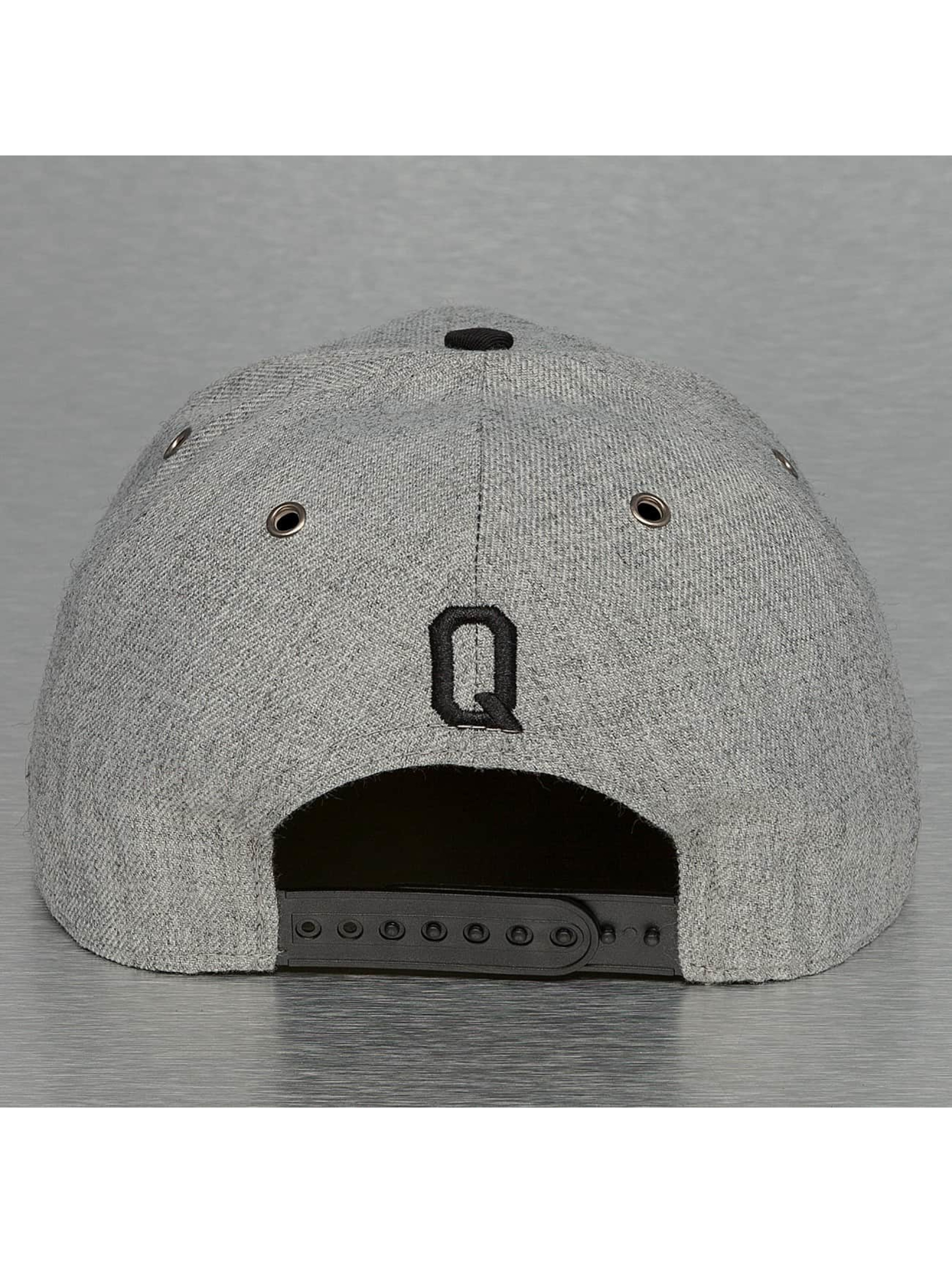 TrueSpin Casquette Snapback & Strapback ABC-Q Wool gris