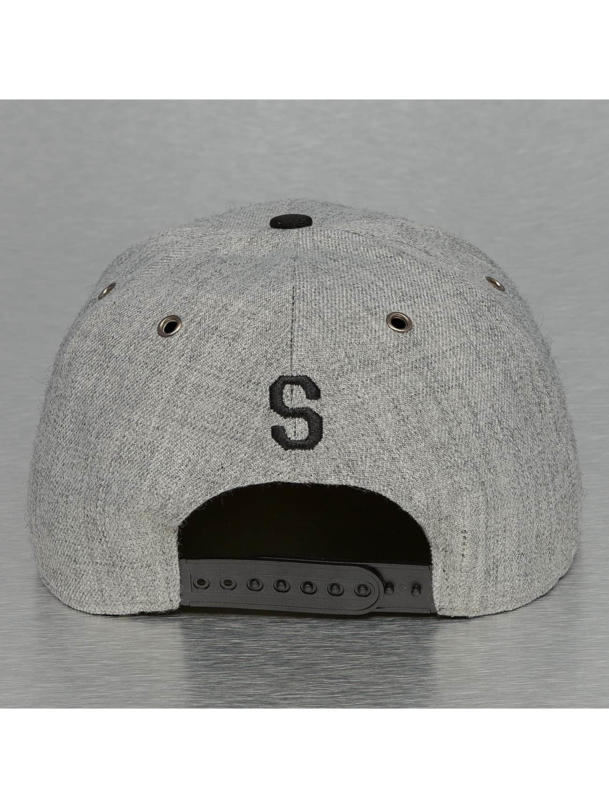 TrueSpin Casquette Snapback & Strapback ABC-S Wool gris
