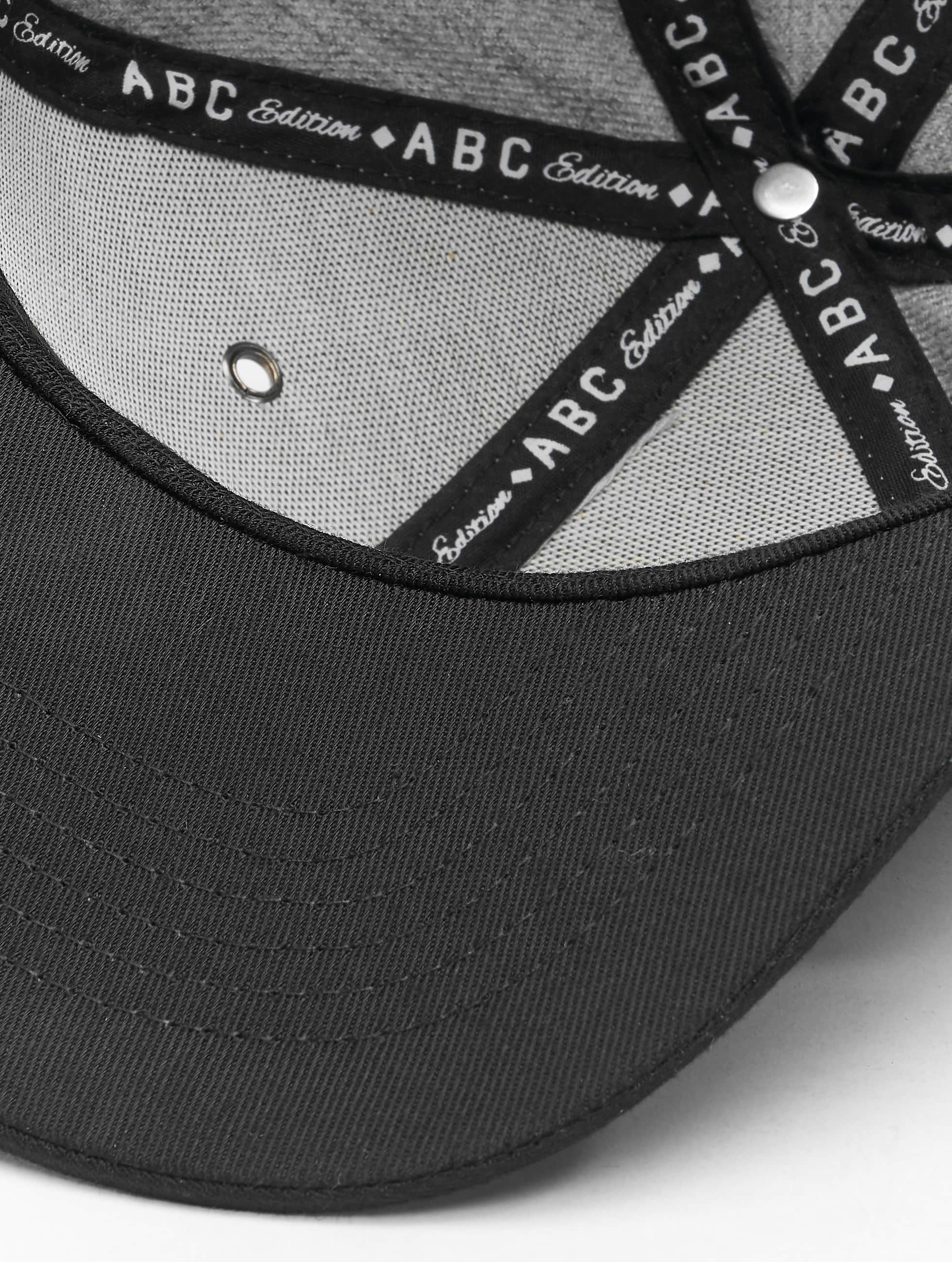 TrueSpin Casquette Snapback & Strapback ABC-U Wool gris