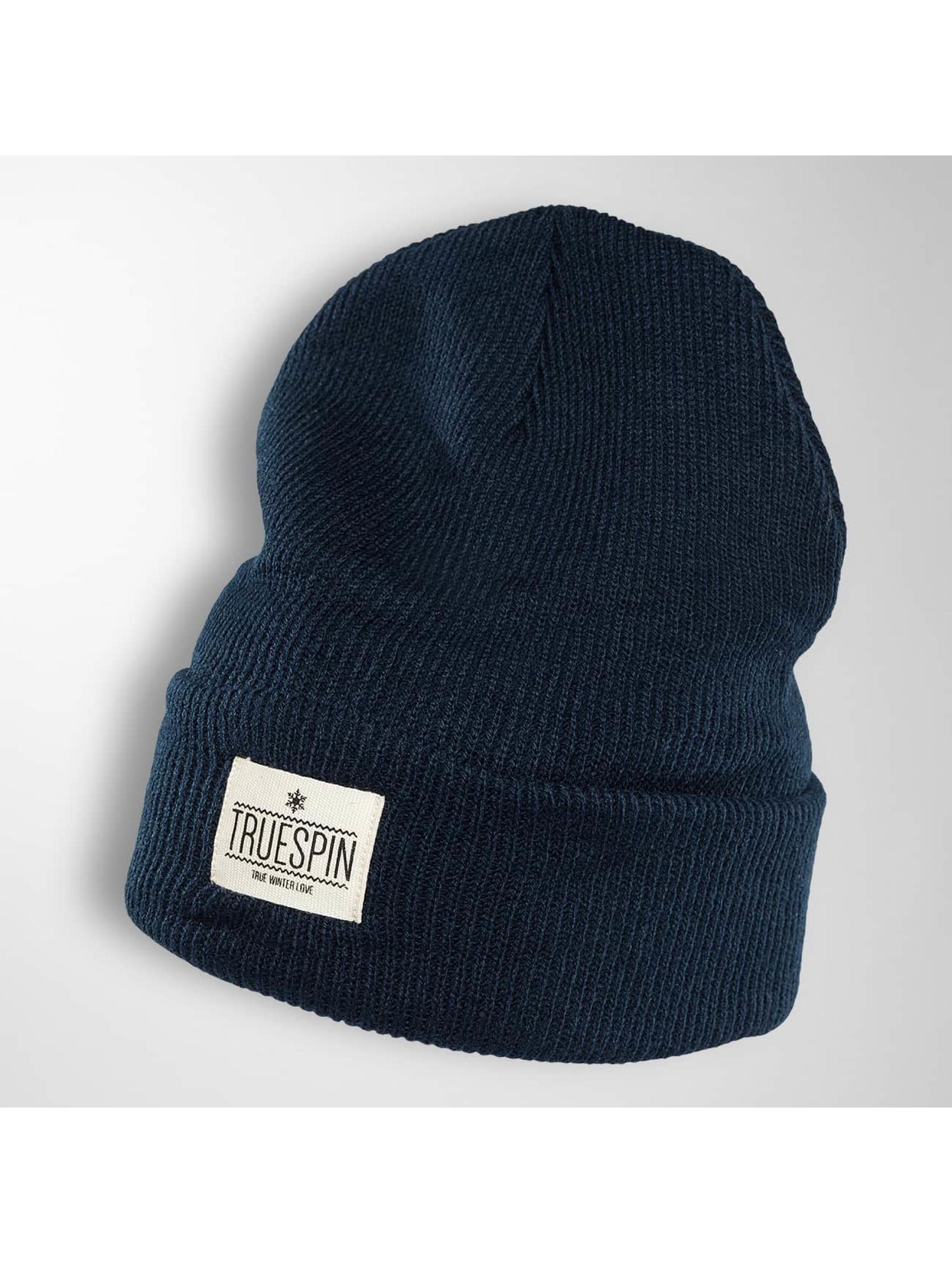 TrueSpin Czapki Warm niebieski