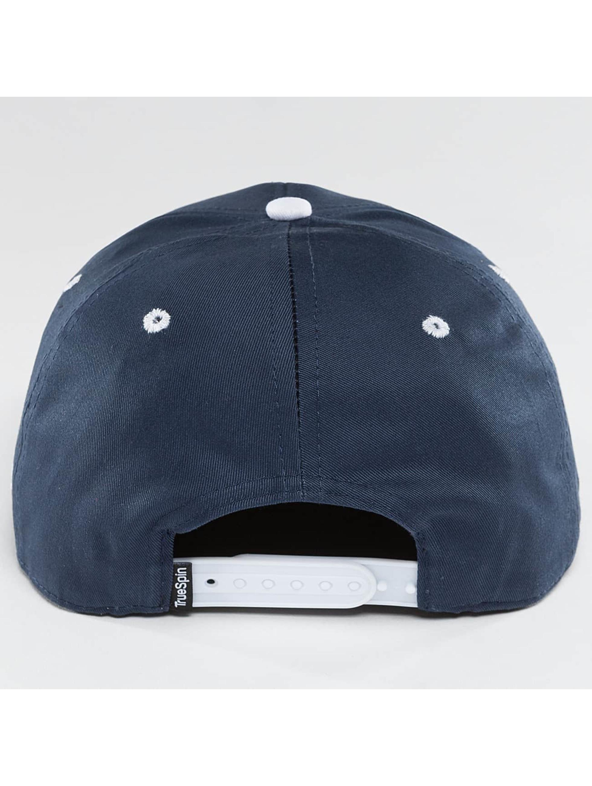TrueSpin Gorra Snapback Shorty CNT azul