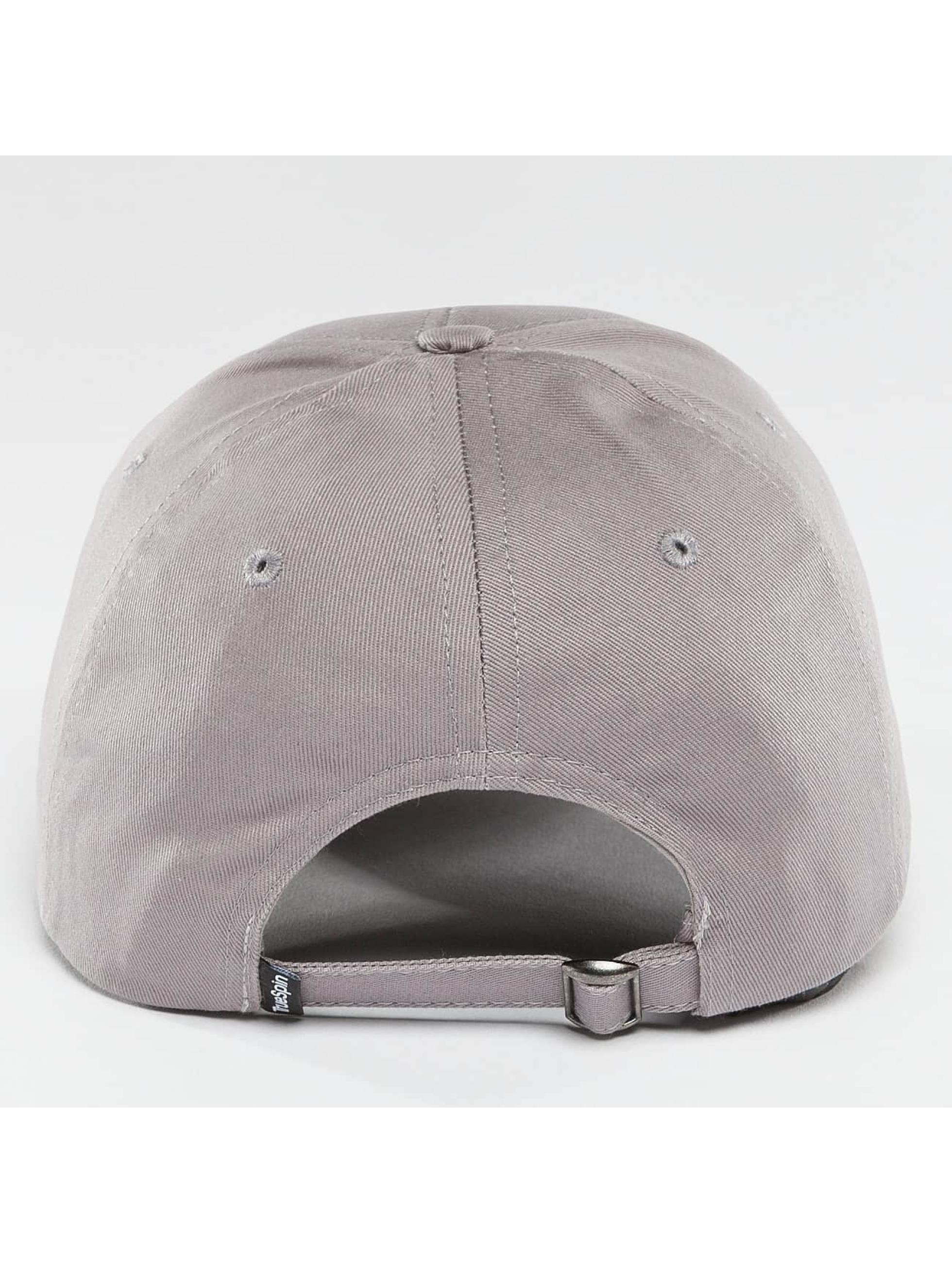 TrueSpin Gorra Snapback Blank gris