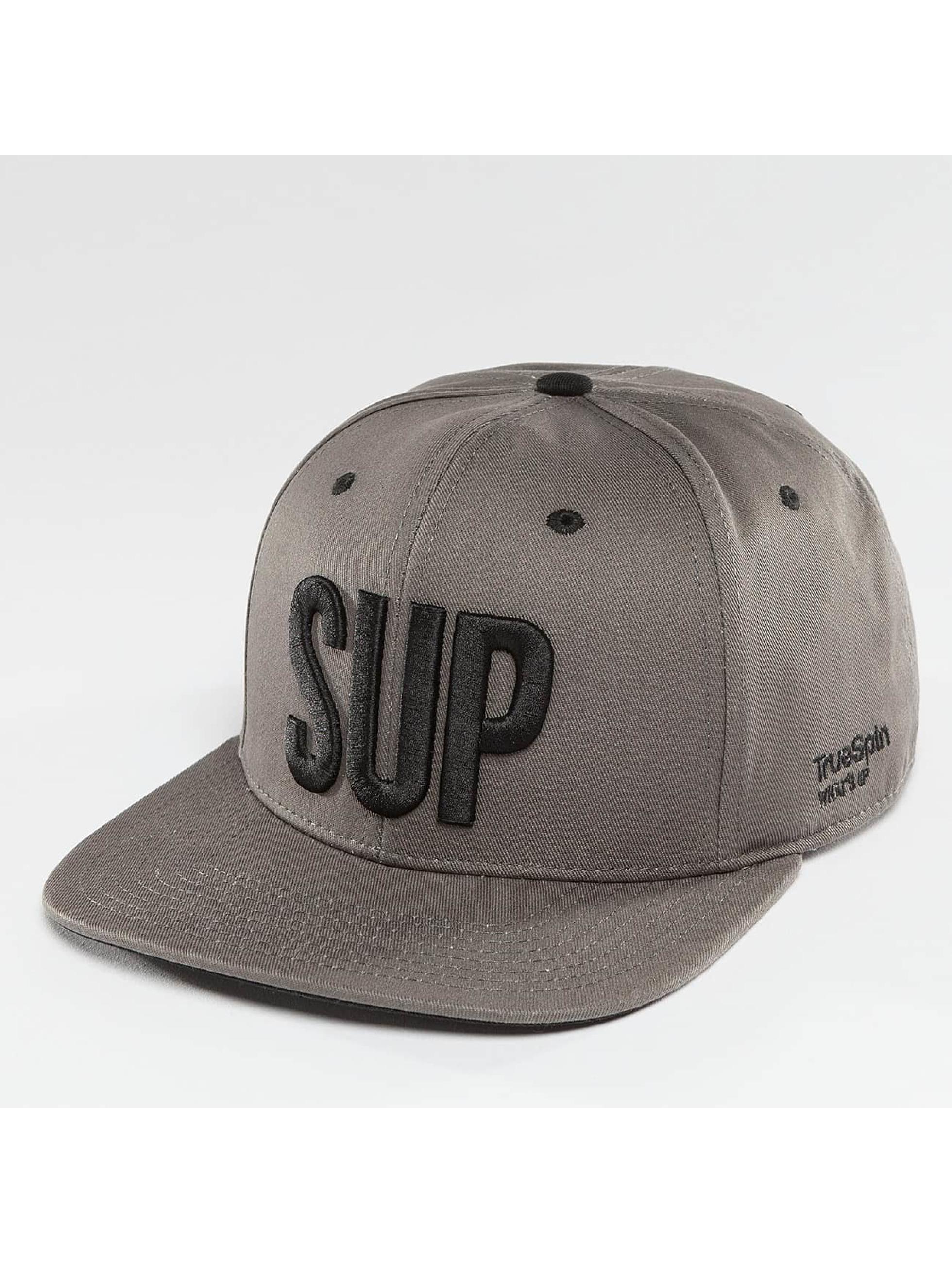 TrueSpin Gorra Snapback Shorty SUP gris