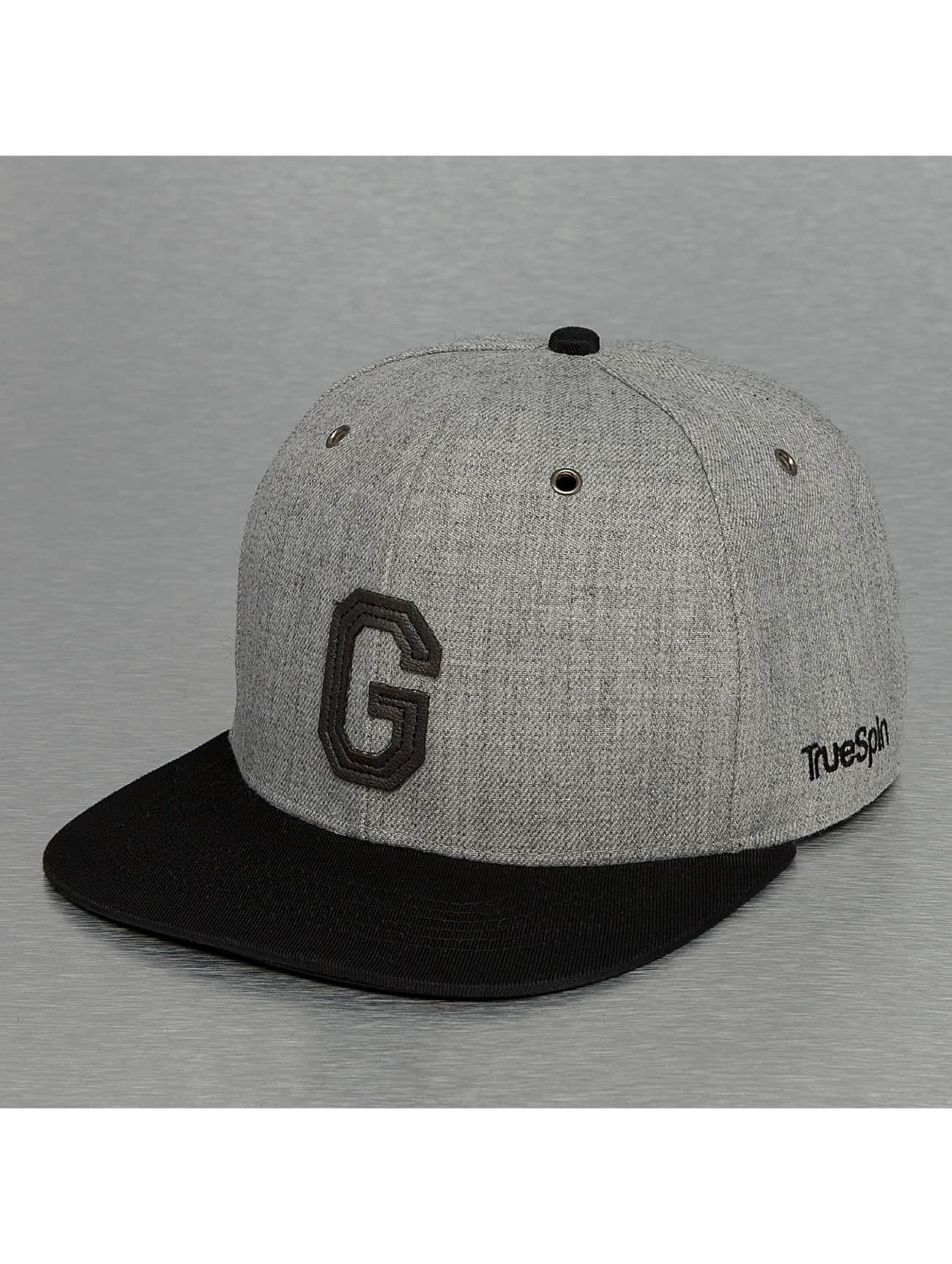 TrueSpin Snapback ABC-G Wool šedá