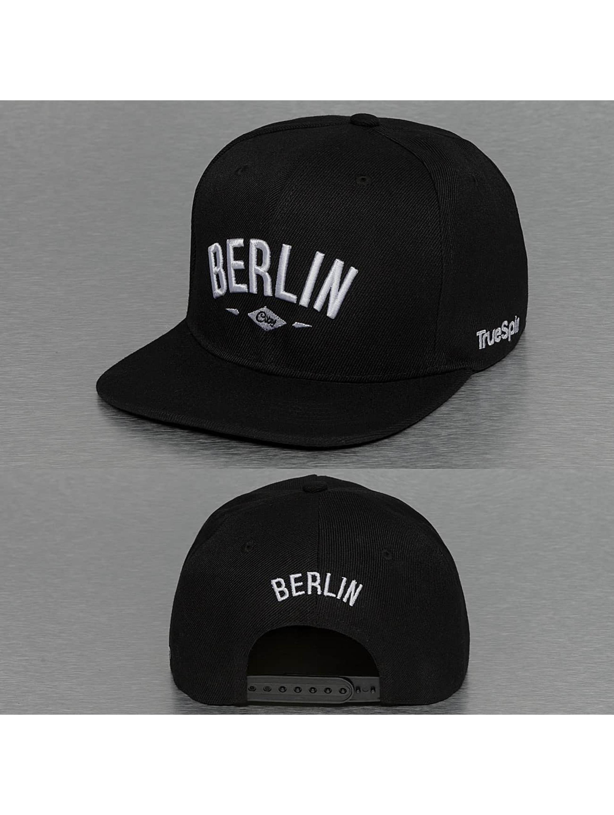TrueSpin Snapback Cap Berlin City black