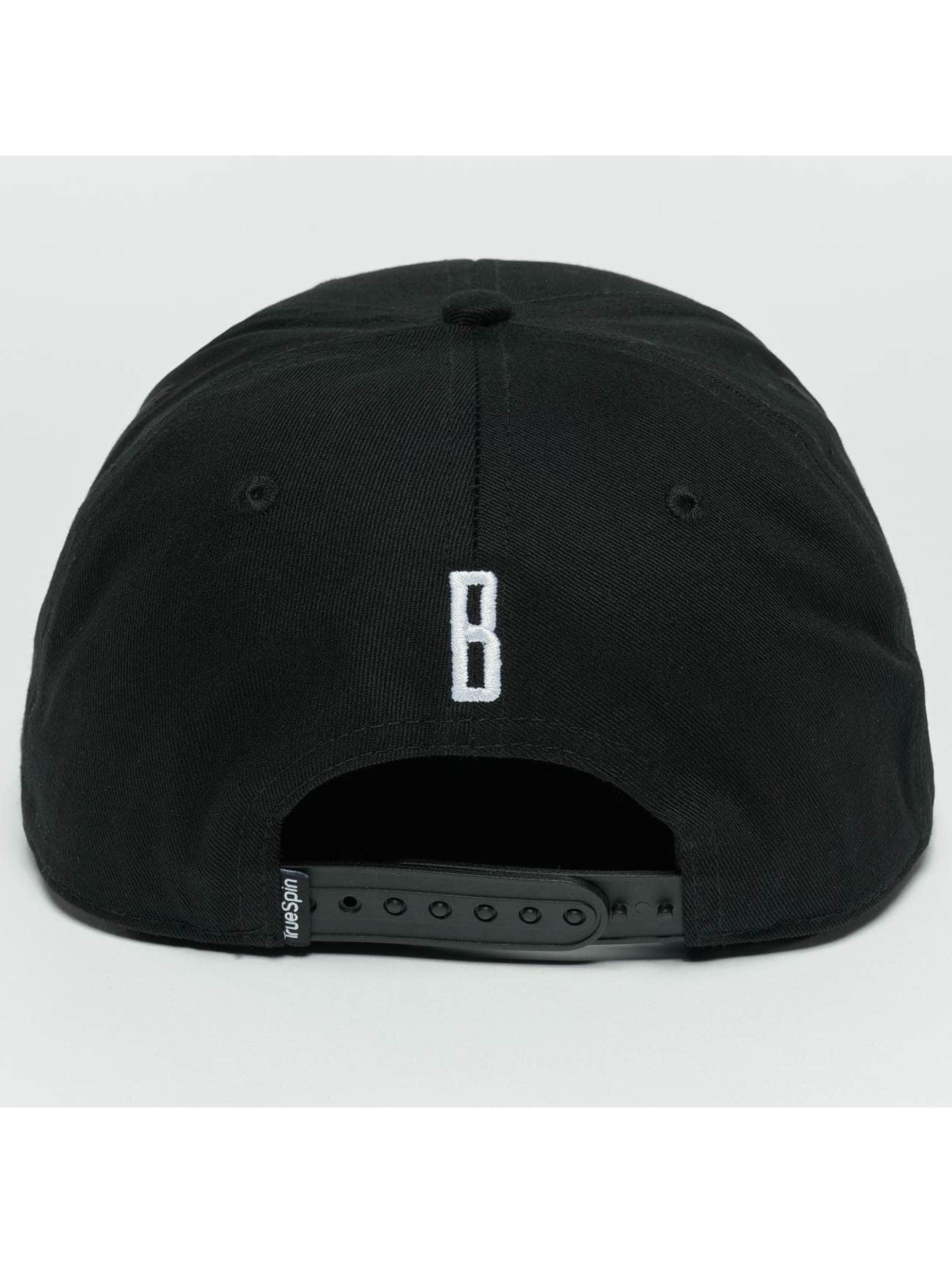 TrueSpin Snapback Cap ABC B black