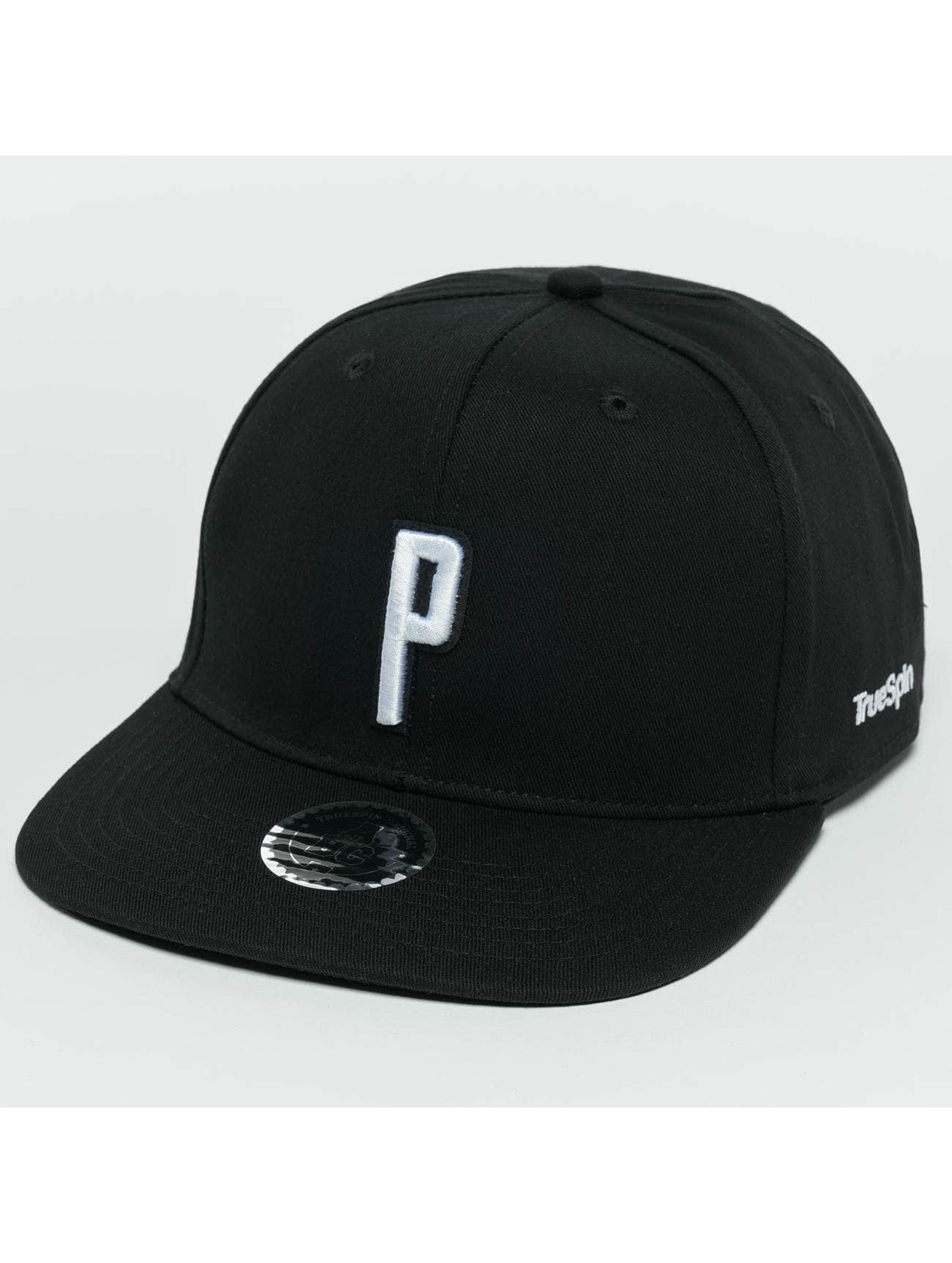 TrueSpin Snapback Cap ABC P black