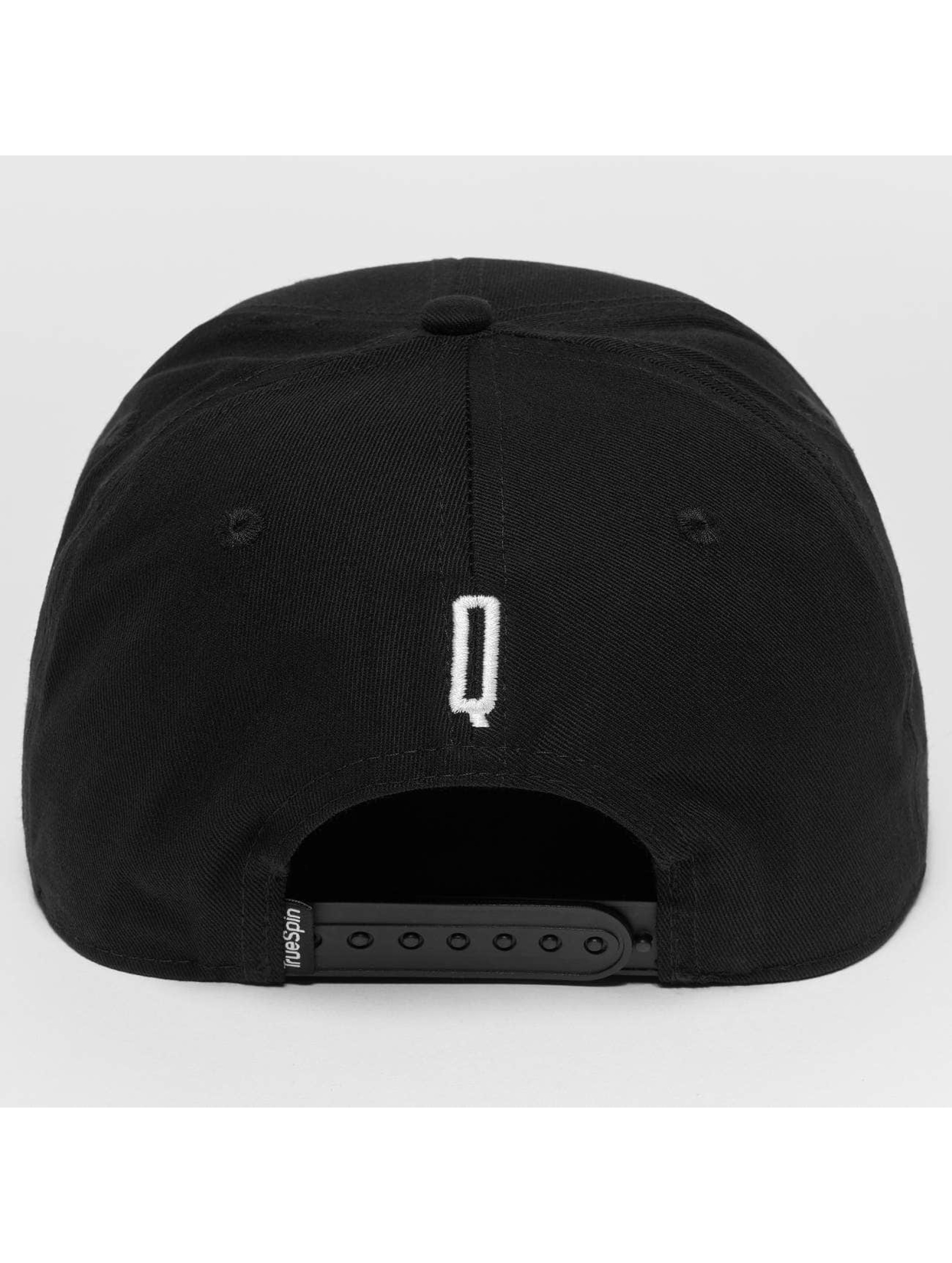 TrueSpin Snapback Cap ABC Q black